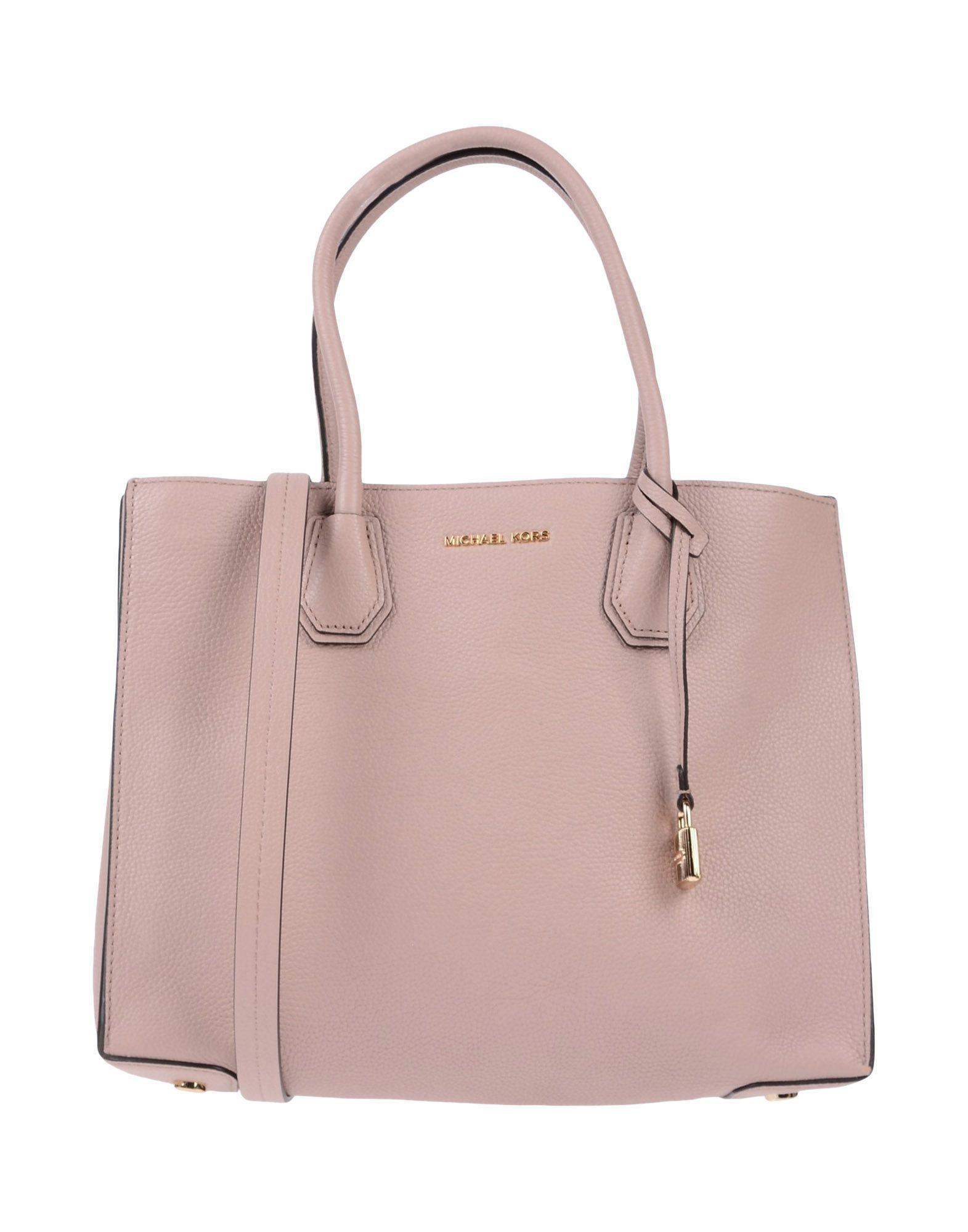 135b7d3f300e56 Michael Michael Kors Handbag in Pink - Lyst