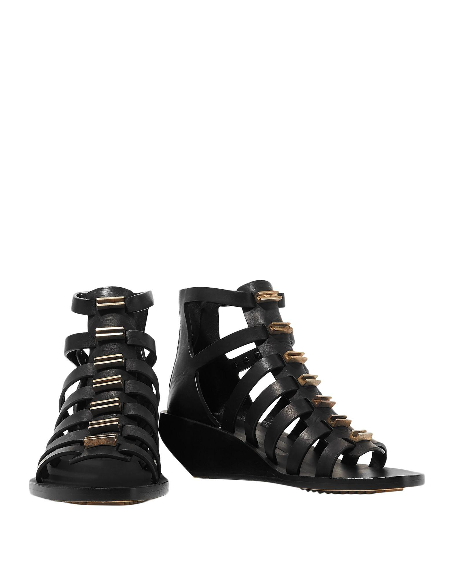 40dd70d58 Lyst - Rick Owens Sandals in Black