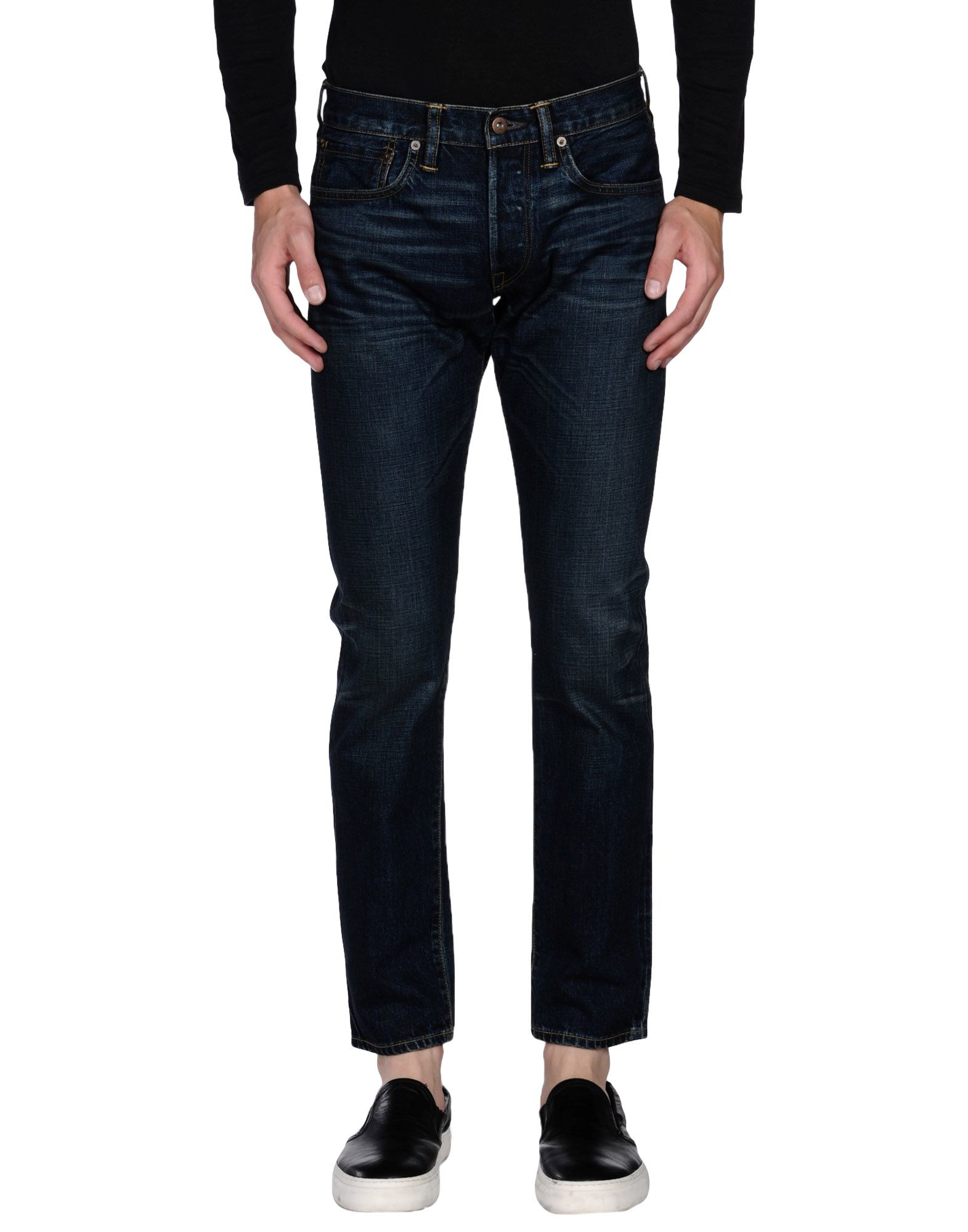 simon miller denim pants in black for men