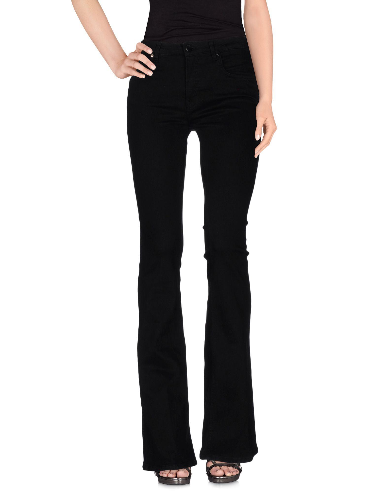 Lyst Victoria Beckham Denim Pants In Black