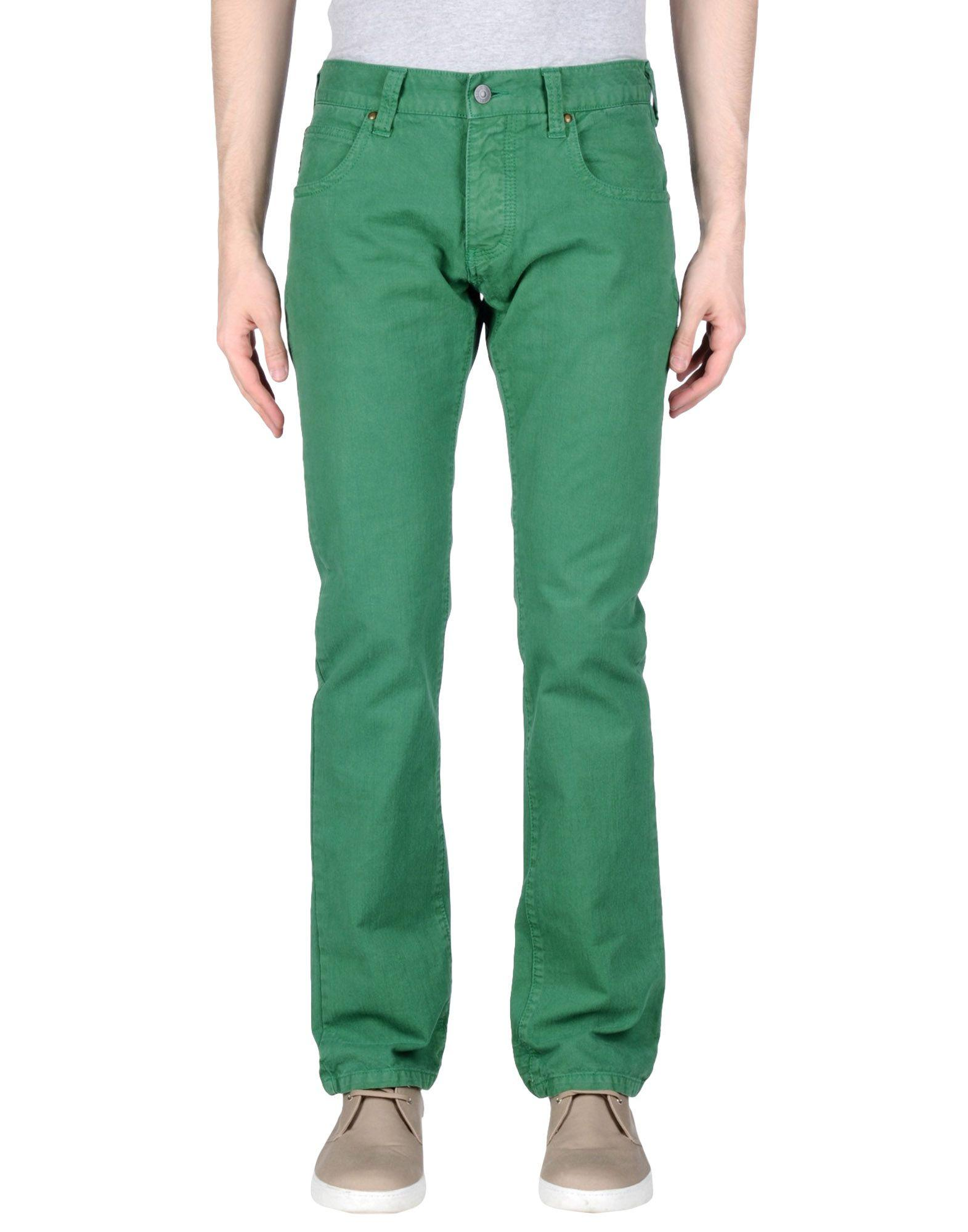 Shop green denim skinny jeans at Neiman Marcus, where you will find free shipping on the latest in fashion from top designers.