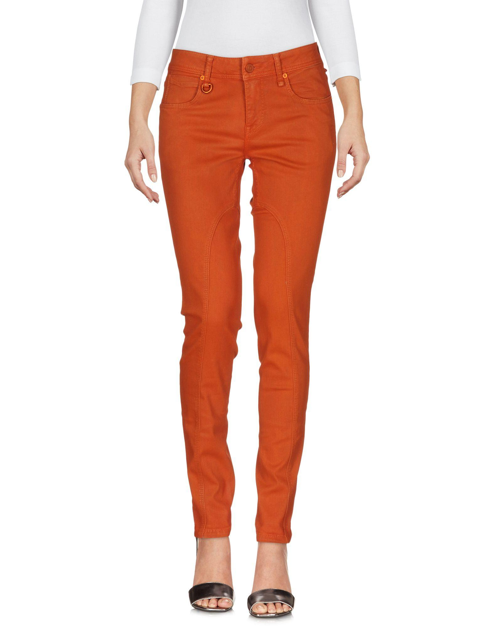 Elegant Rag Amp Bone Burnt Orange Flare Jeans In Orange  Lyst