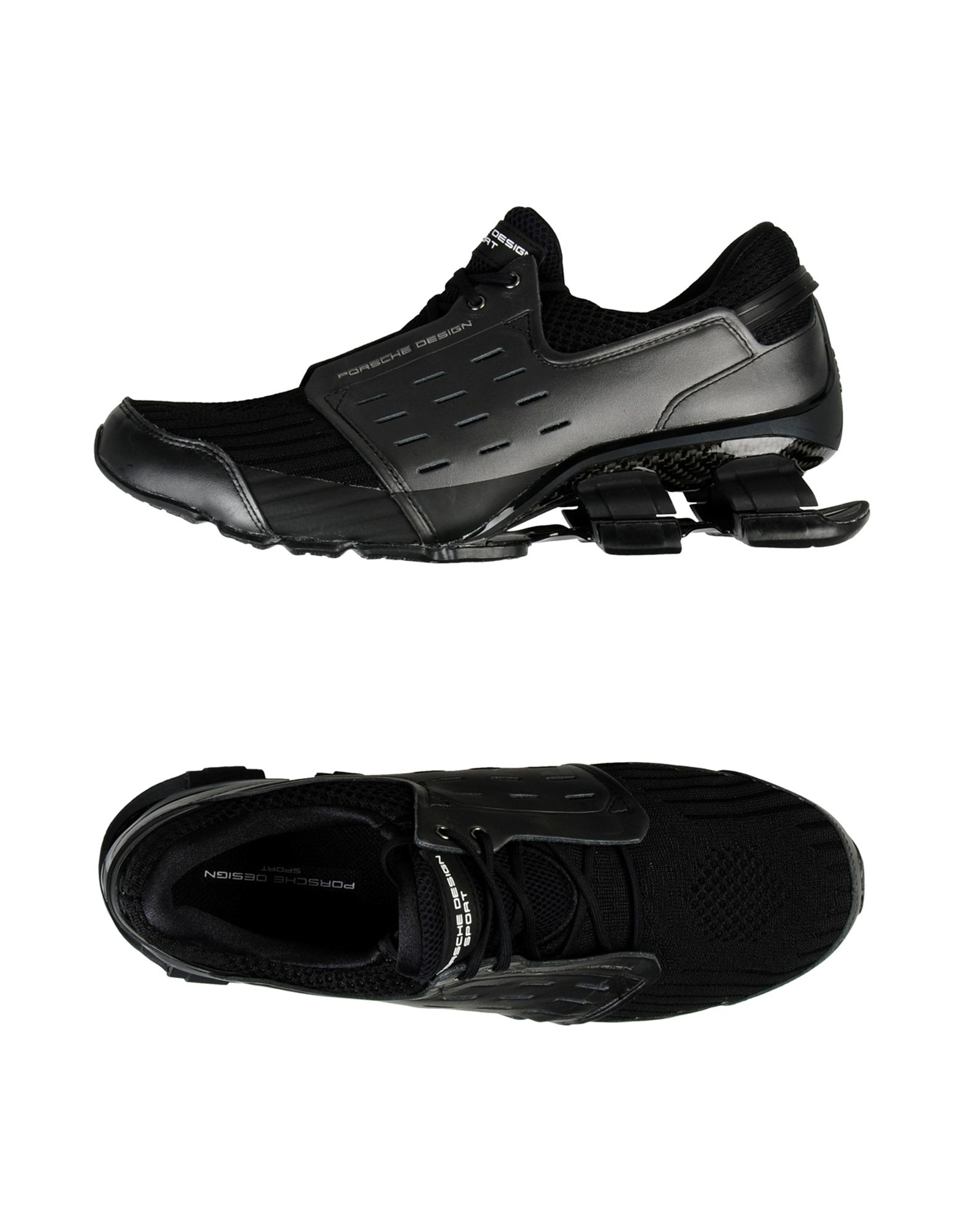 porsche design low tops sneakers in black for men lyst. Black Bedroom Furniture Sets. Home Design Ideas