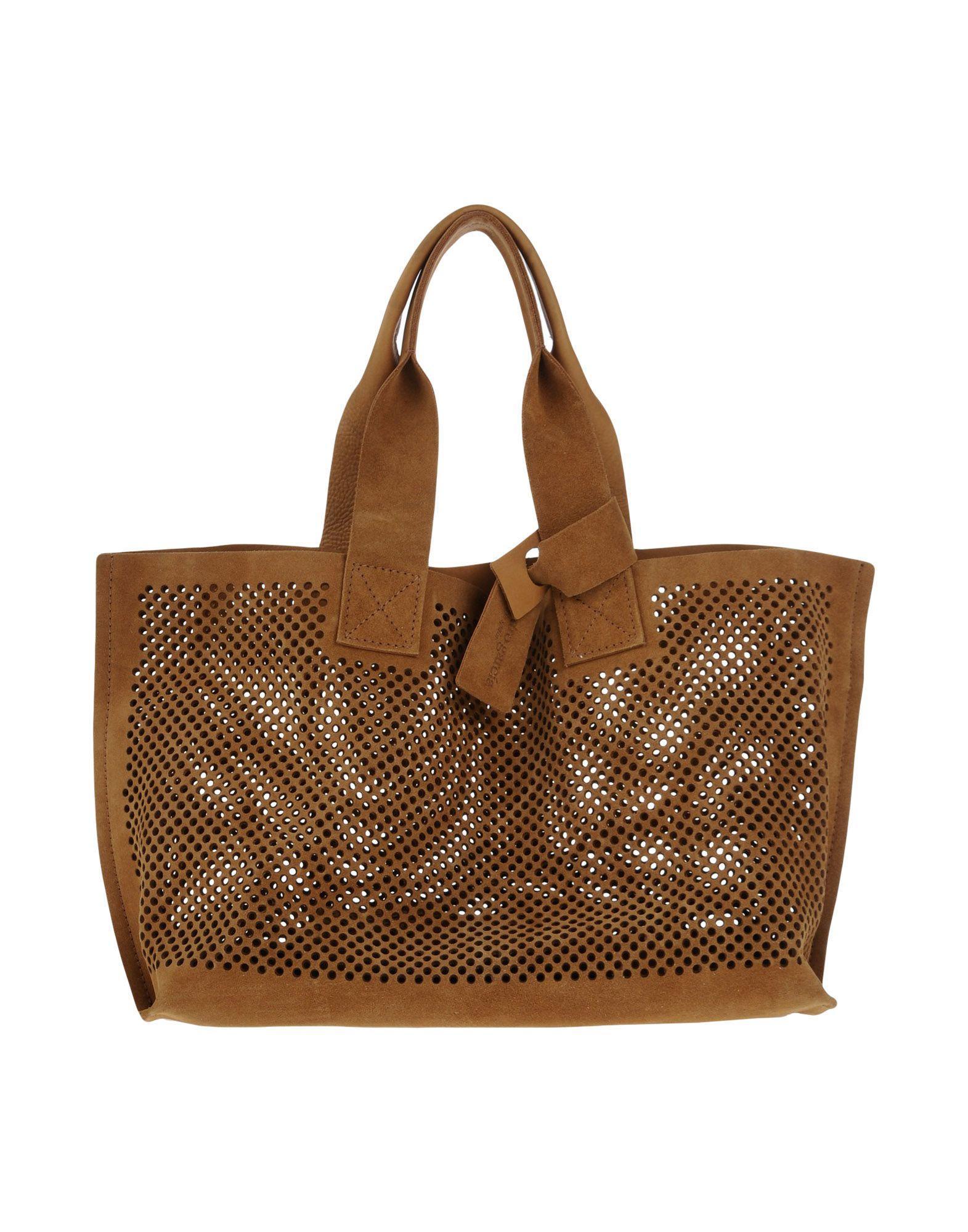 Innovative Pedro Garcia Handbag In Natural Khaki  Lyst