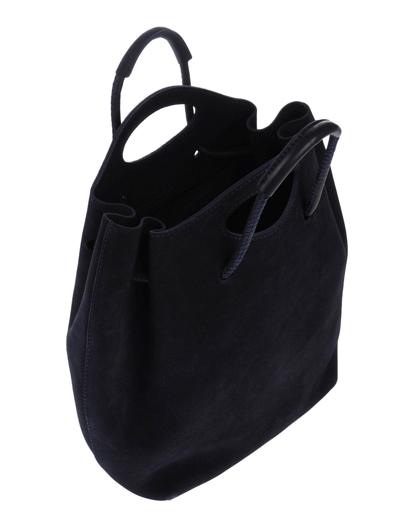 Luxury Pedro Garcia Suede Drawstring Tote  Handbags  PED23607  The