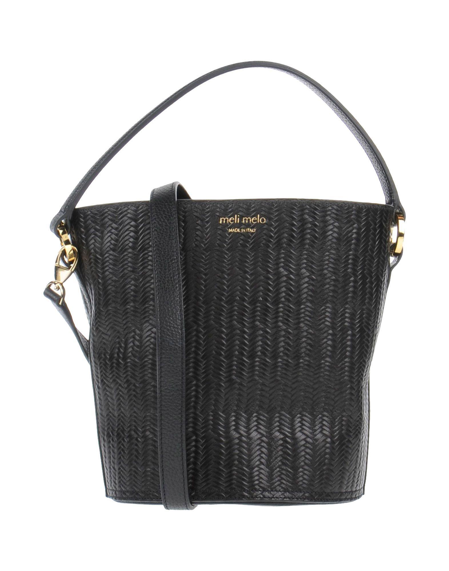 meli melo handbag in black lyst. Black Bedroom Furniture Sets. Home Design Ideas