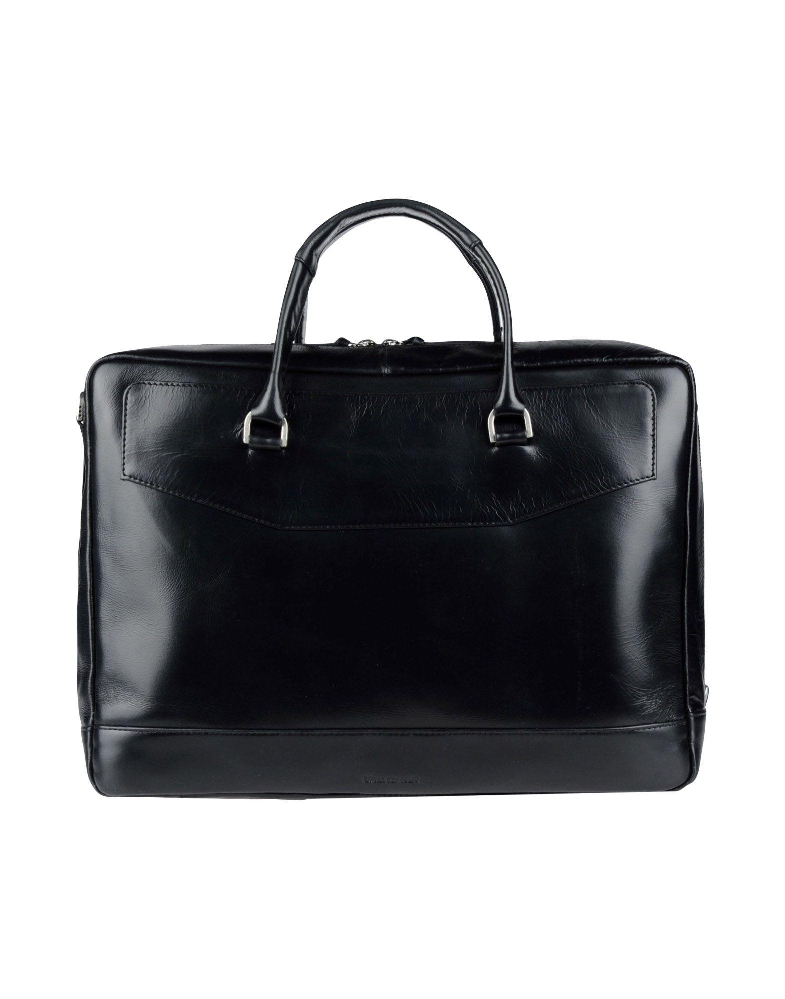 Royal republiq Work Bags in Black for Men