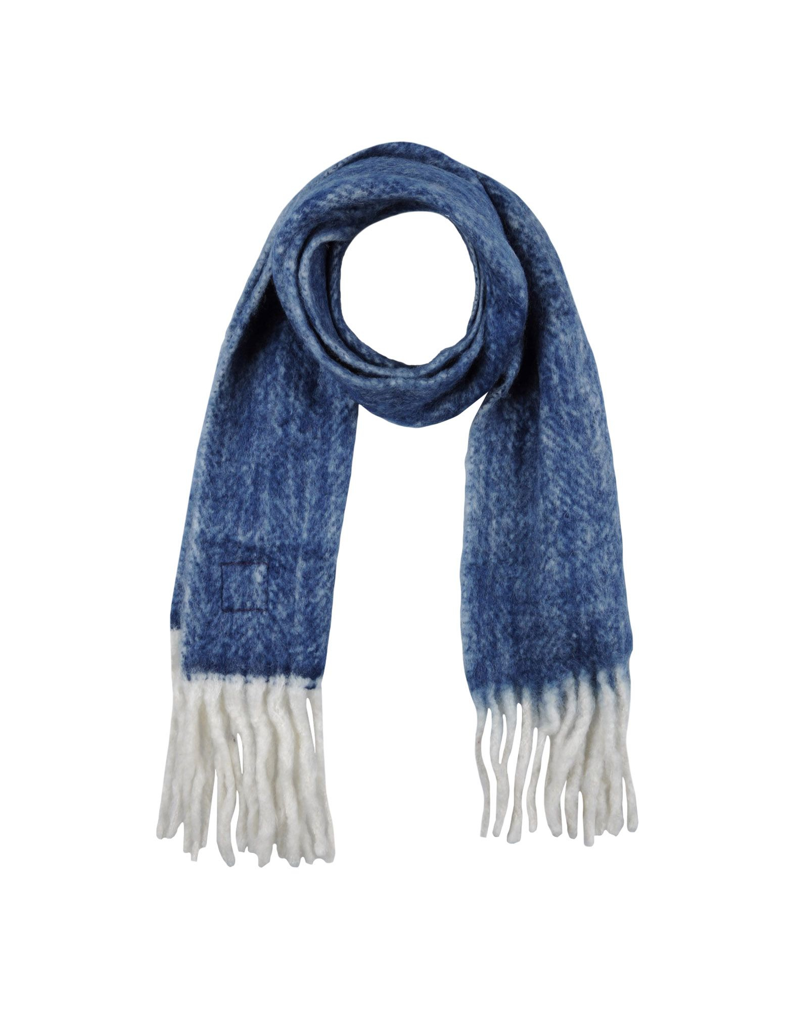 erfurt oblong scarf in blue lyst