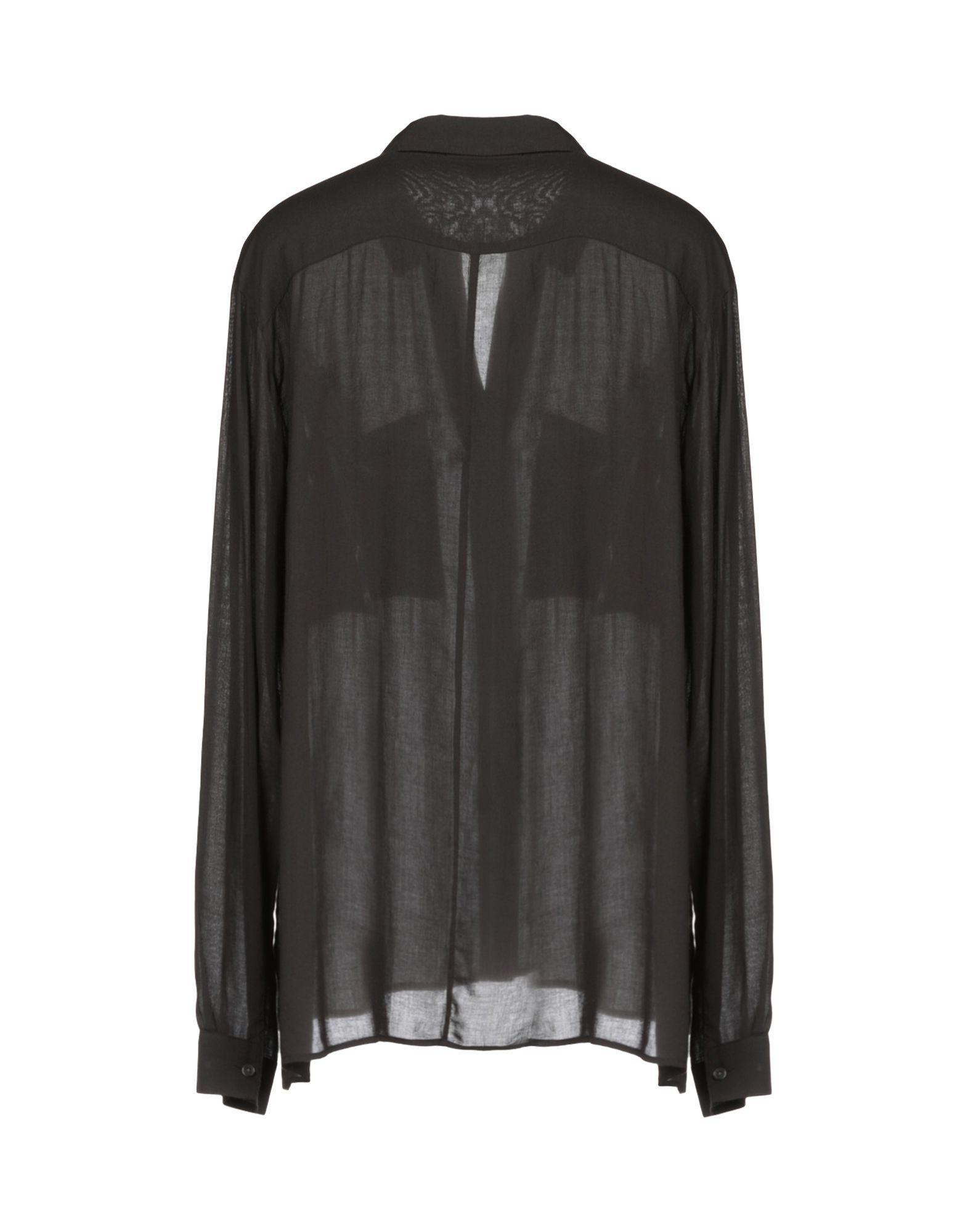 3675663a19 James Perse Shirt in Black - Lyst