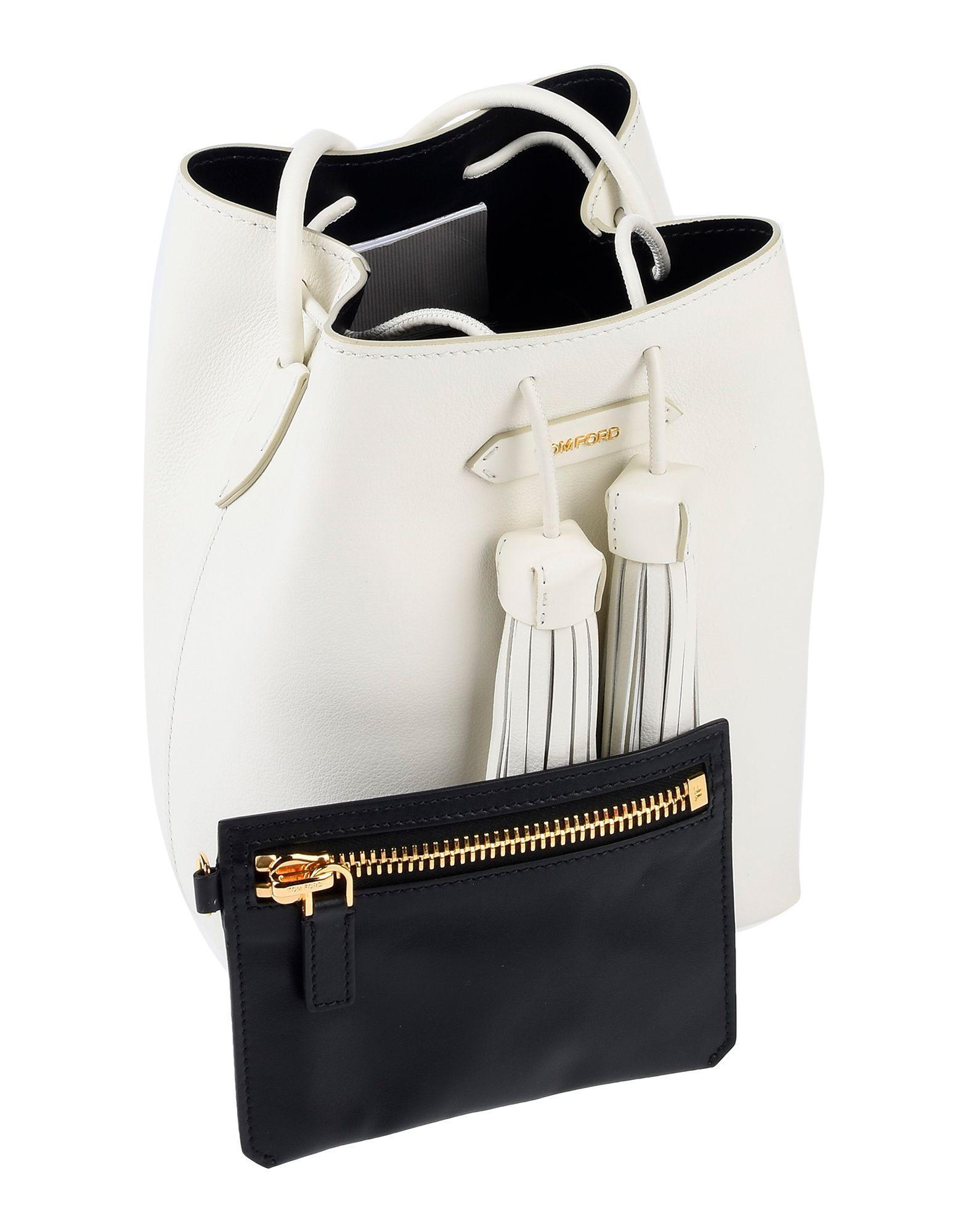 Tom Ford - White Cross-body Bag - Lyst. View fullscreen 9c2c0703ebc6f