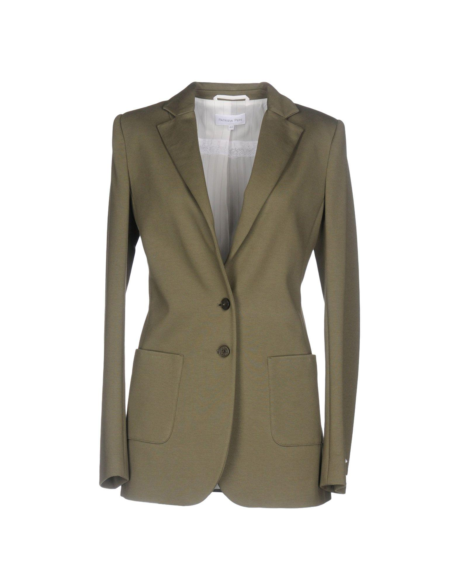 patrizia pepe blazer in green lyst. Black Bedroom Furniture Sets. Home Design Ideas