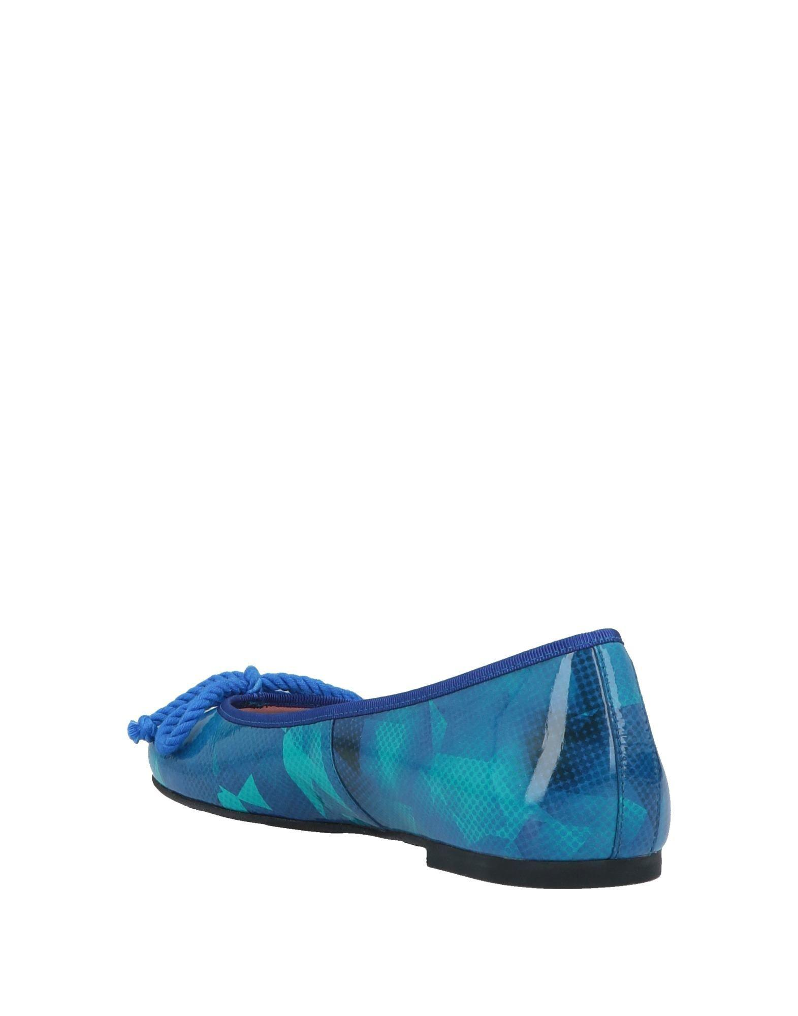 e3c7c1dd5ca Lyst - Pretty Ballerinas Ballet Flats in Blue