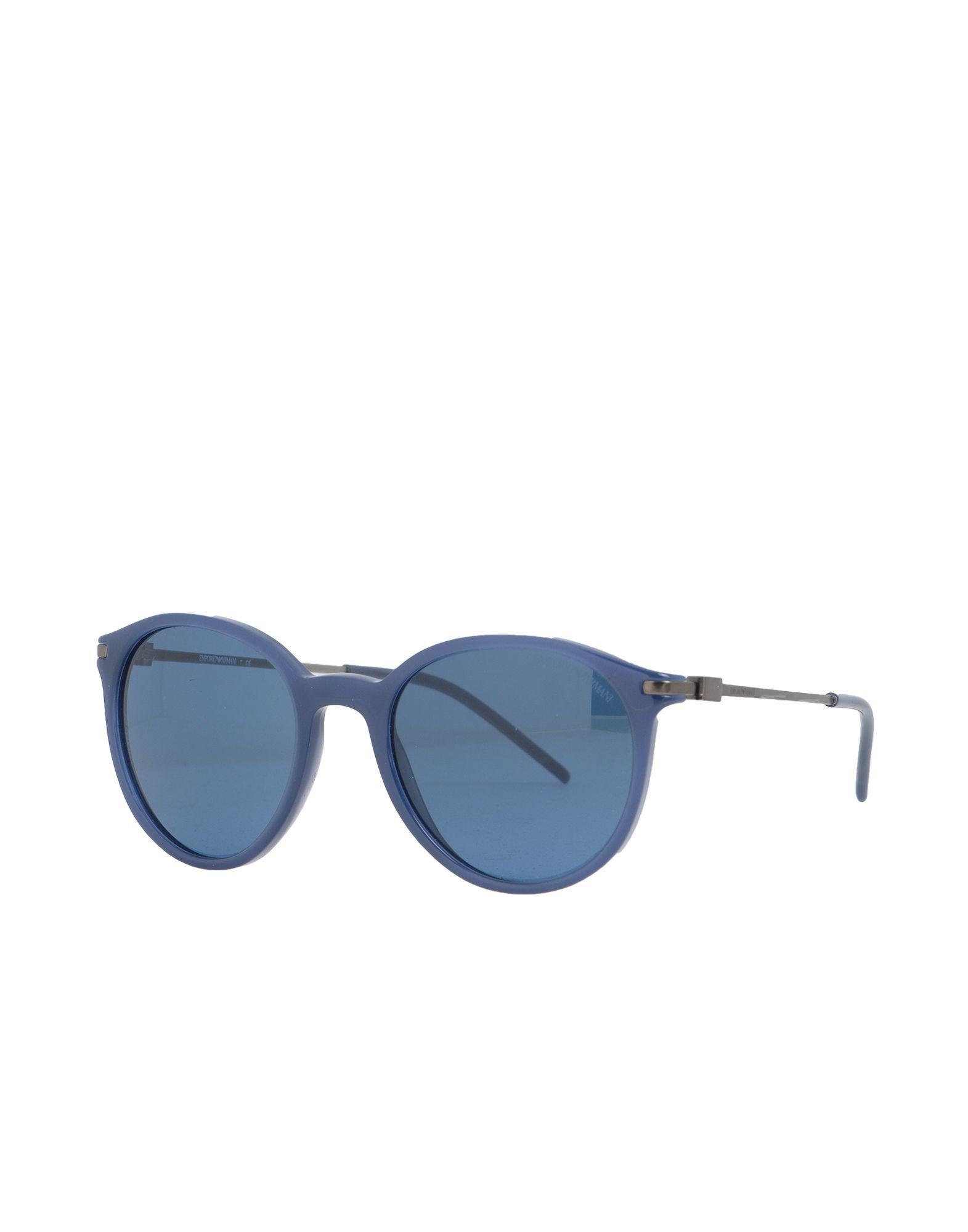 3ce2fad16e3c Emporio Armani - Blue Sunglasses - Lyst. View fullscreen