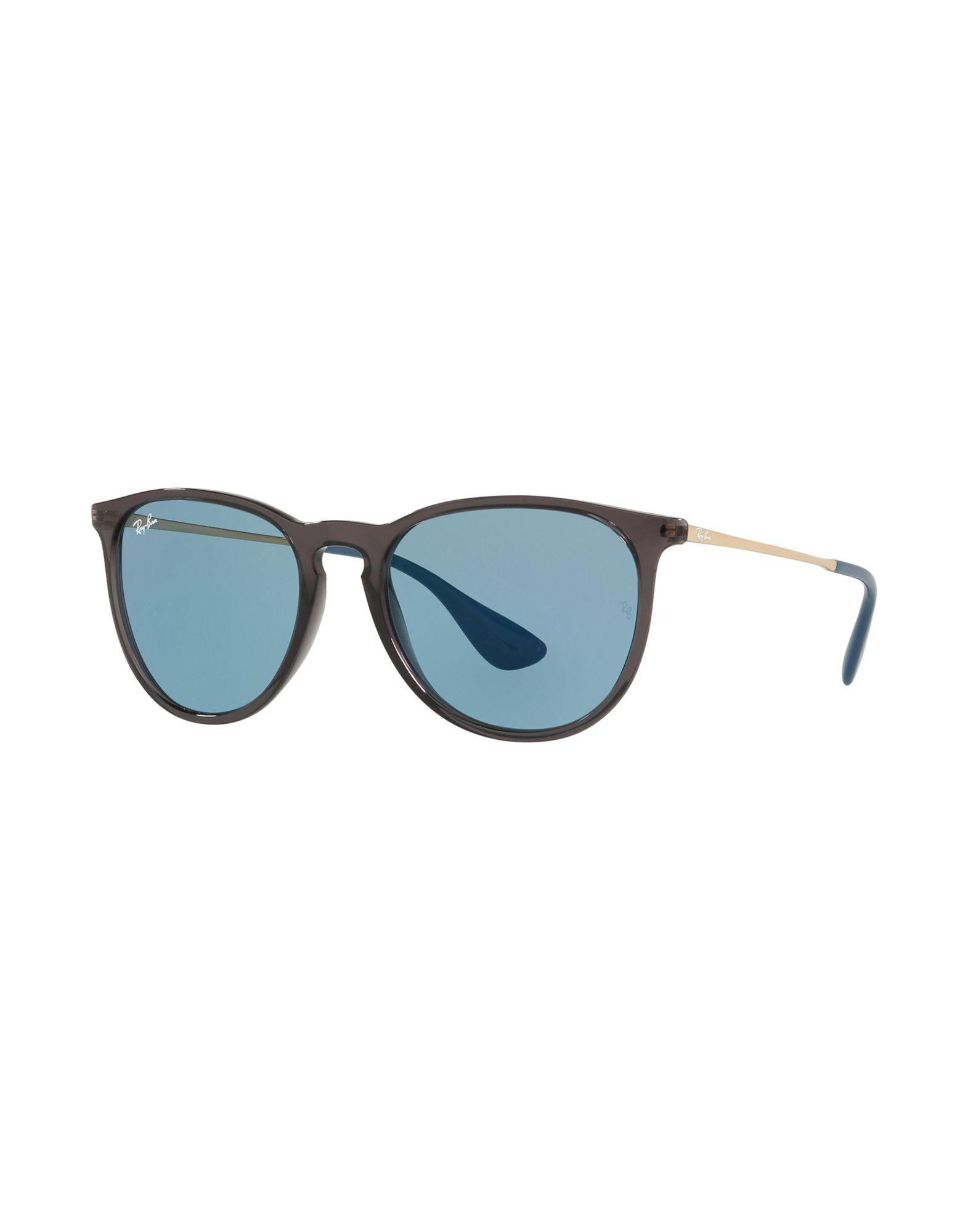 Lyst - Lunettes de soleil Ray-Ban pour homme en coloris Bleu 4103b864e433