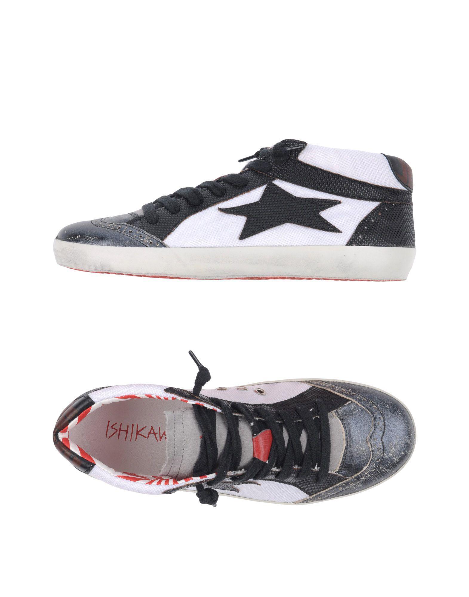 Ishikawa. Women's Black High-tops & Sneakers