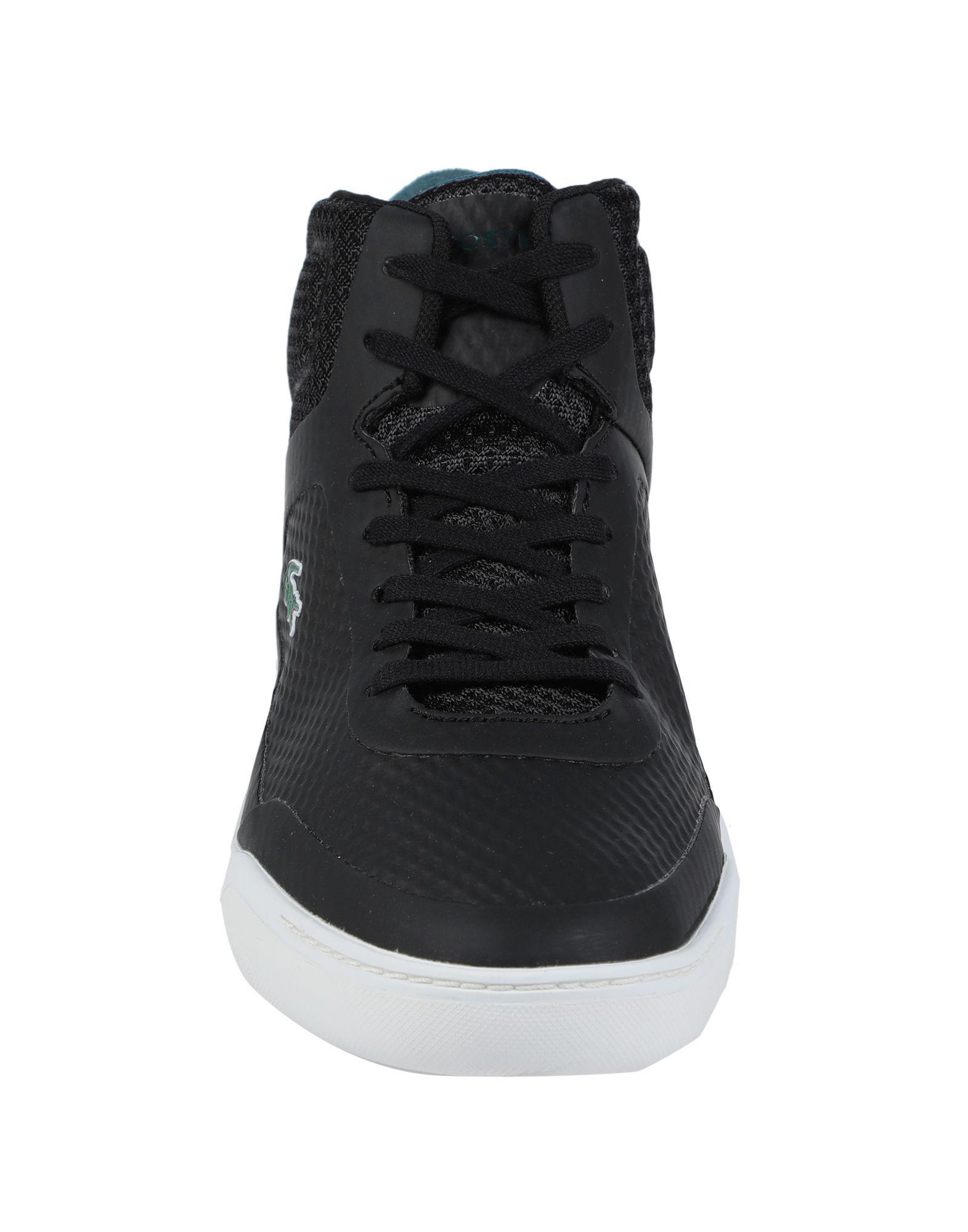 En Montantes Homme Lyst Sneakersamp; Noir Coloris Pour Tennis Lacoste c3q5ARjL4