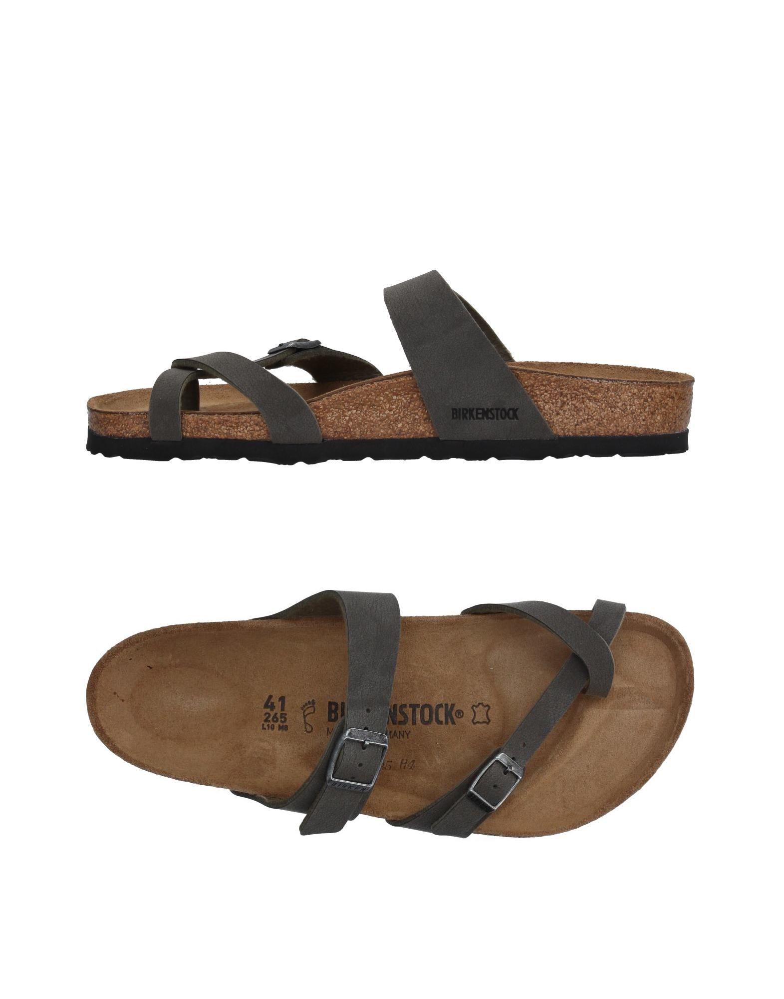 4d3378d733 Birkenstock Toe Strap Sandal in Gray for Men - Lyst