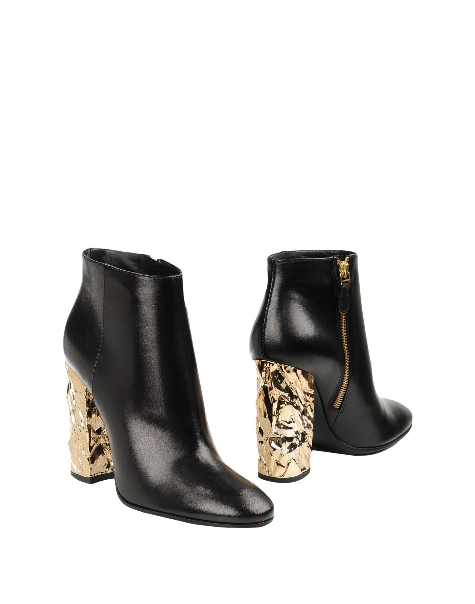 Roberto Festa. Women's Black Ankle Boots
