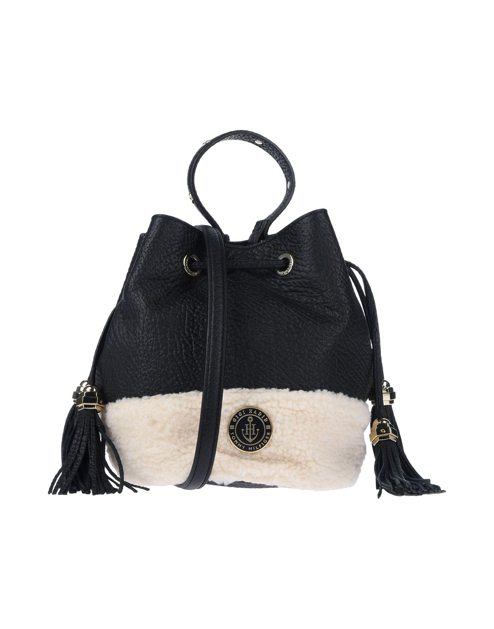 fa4d1d1322 Tommy Hilfiger Handbag in Black - Lyst