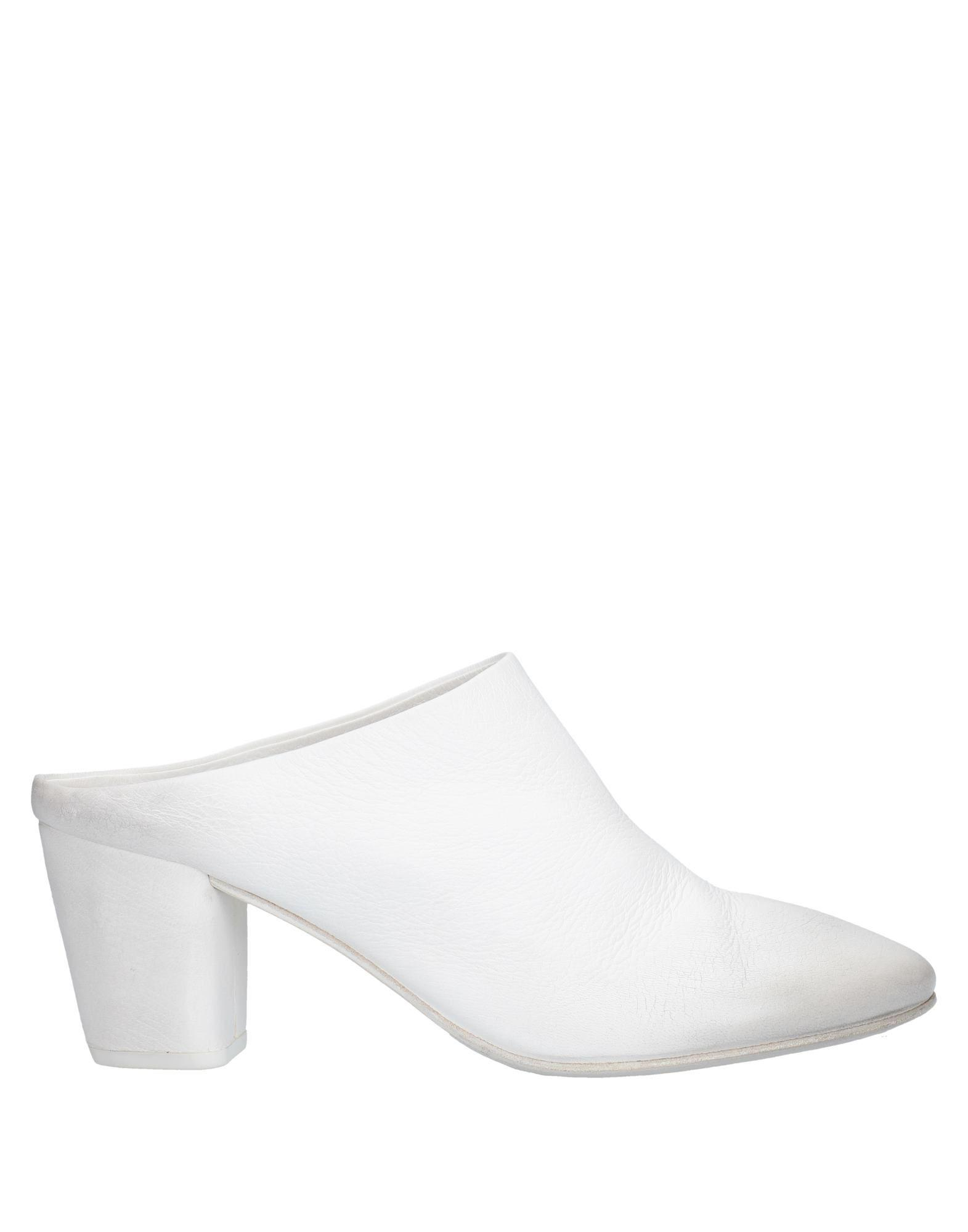 In White Mules 50 Lyst Save Block Heeled Marsèll wXn0Pk8O