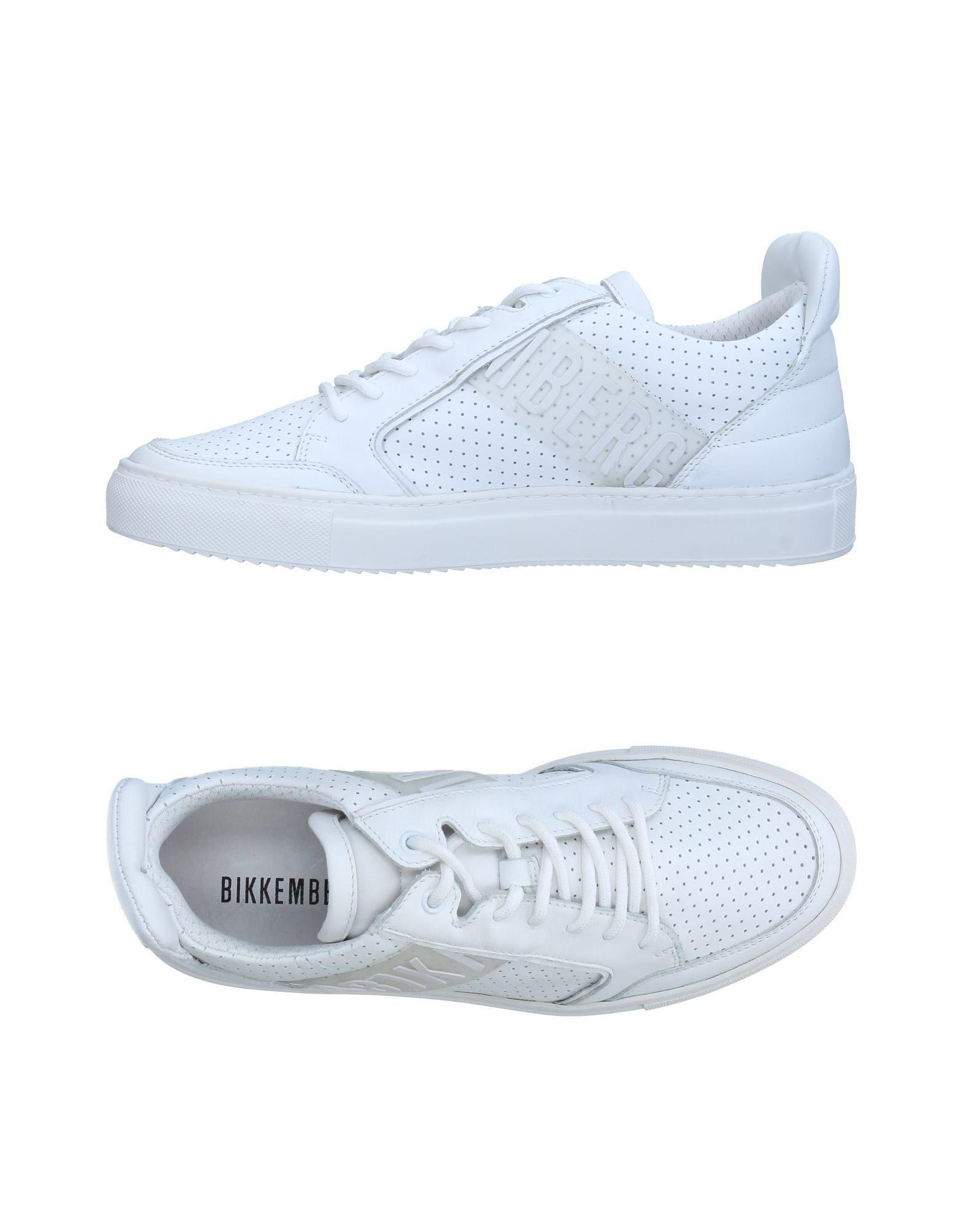 a5595e1d87971 Lyst - Bikkembergs Low-tops   Sneakers in White for Men - Save 14%