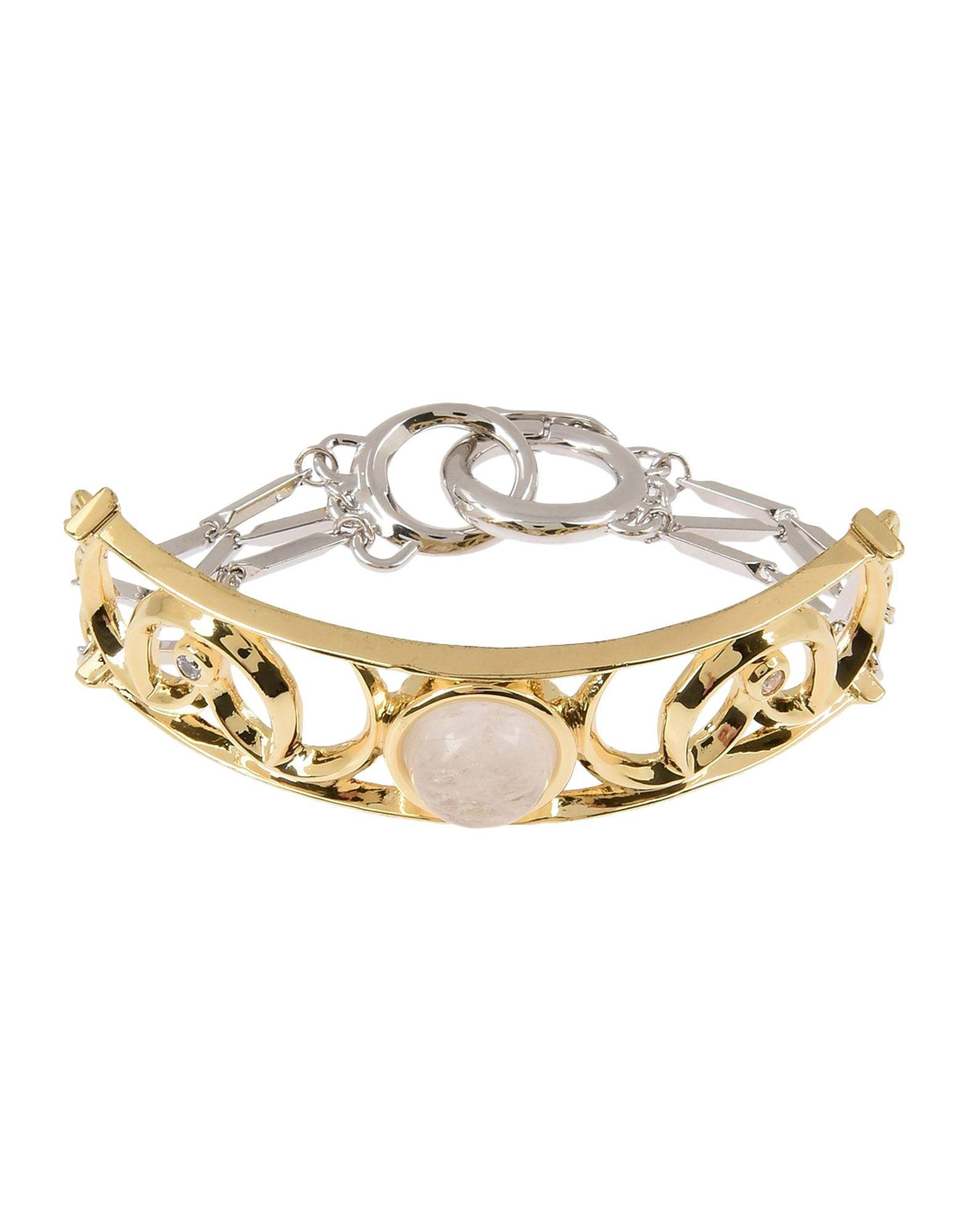 eddie borgo bracelet in metallic lyst