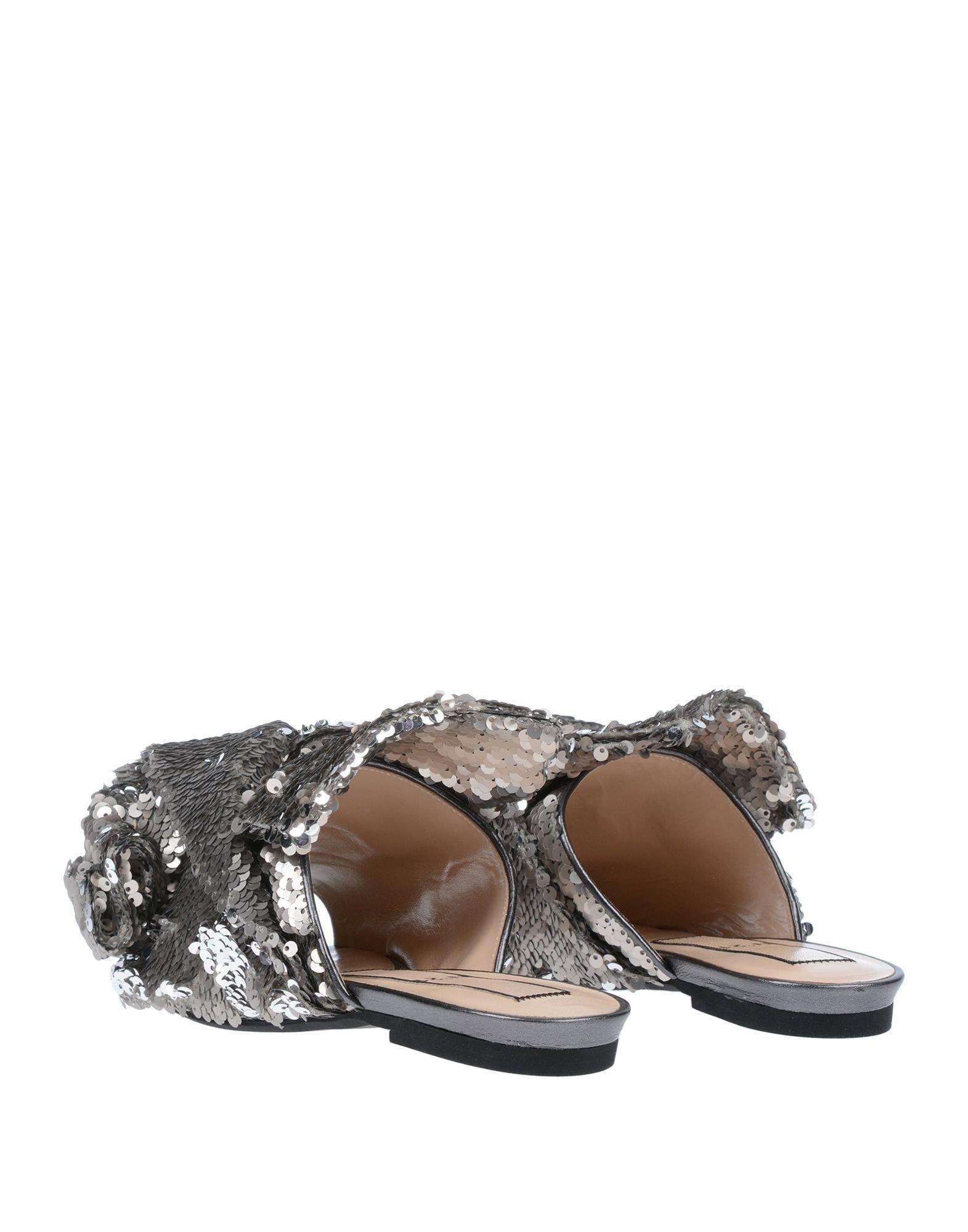 318a1d2a3e4a6 Lyst - N°21 Sandals in Metallic