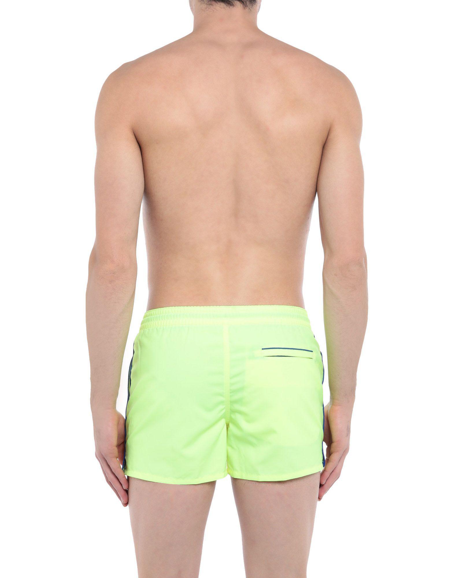 b03bbd8ebfa Sundek Swimming Trunks in Green for Men - Lyst