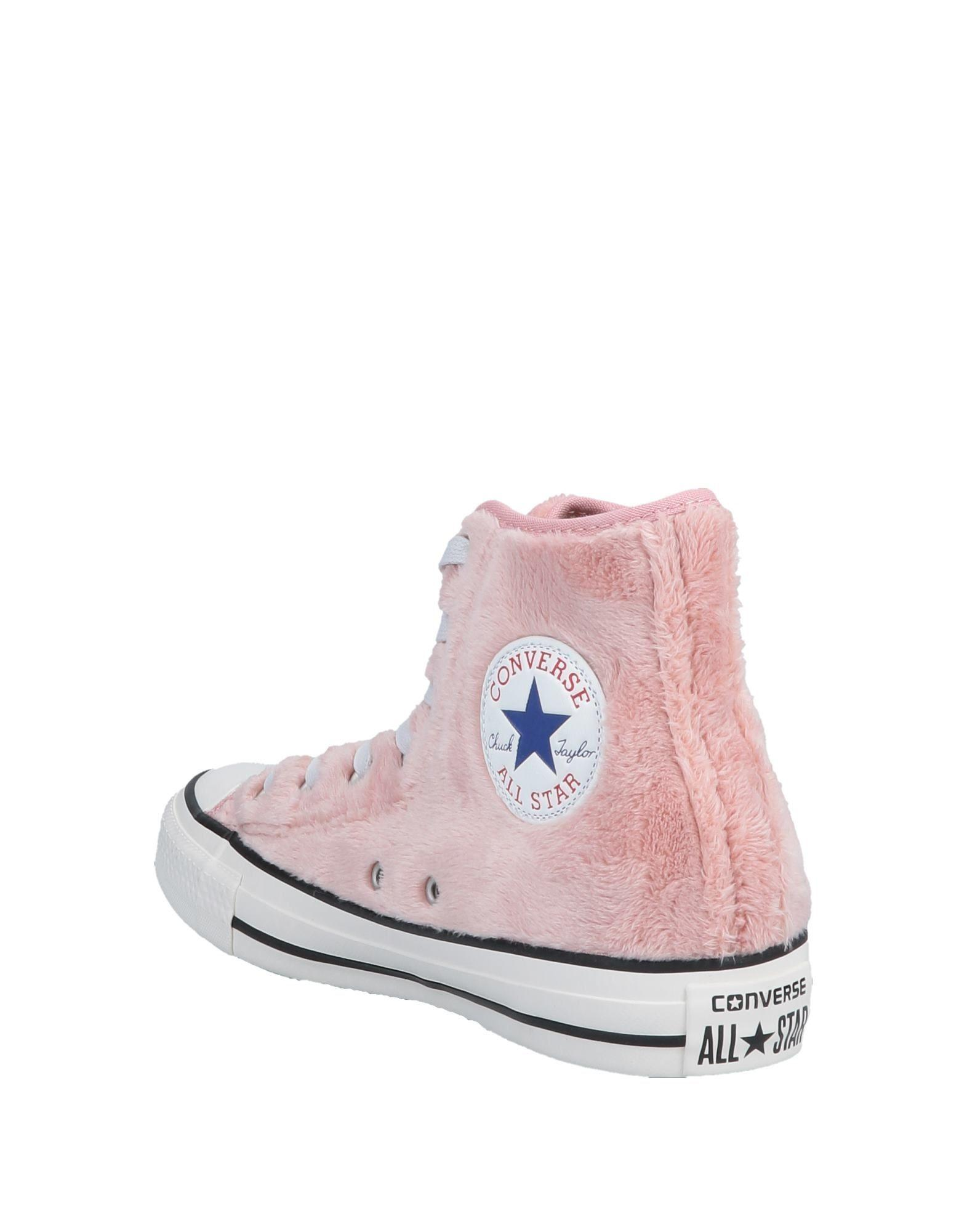 4df43ad8611071 Converse High-tops   Sneakers in Pink - Lyst