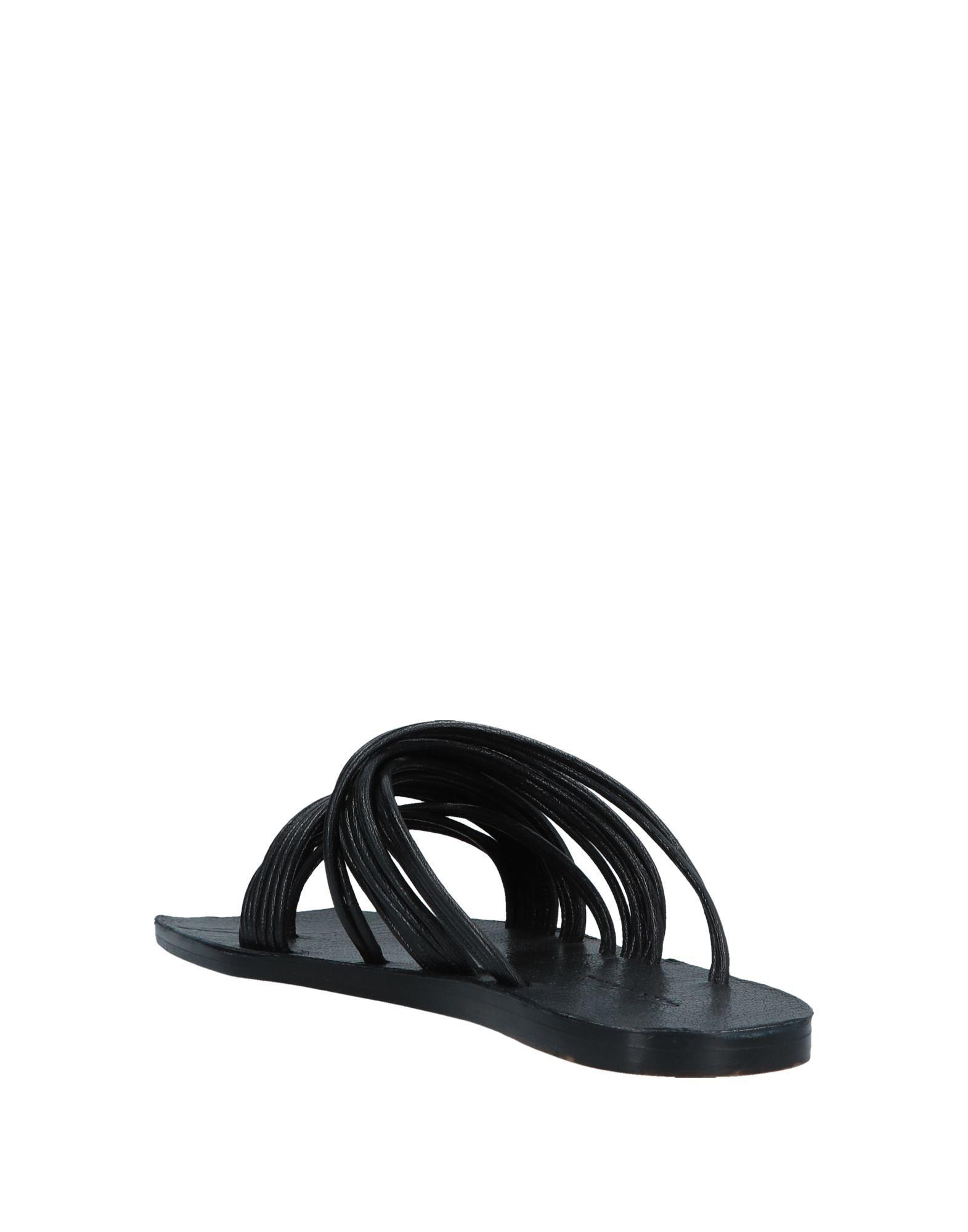 c3a237e914d7 Lyst - Rick Owens Toe Post Sandal in Black