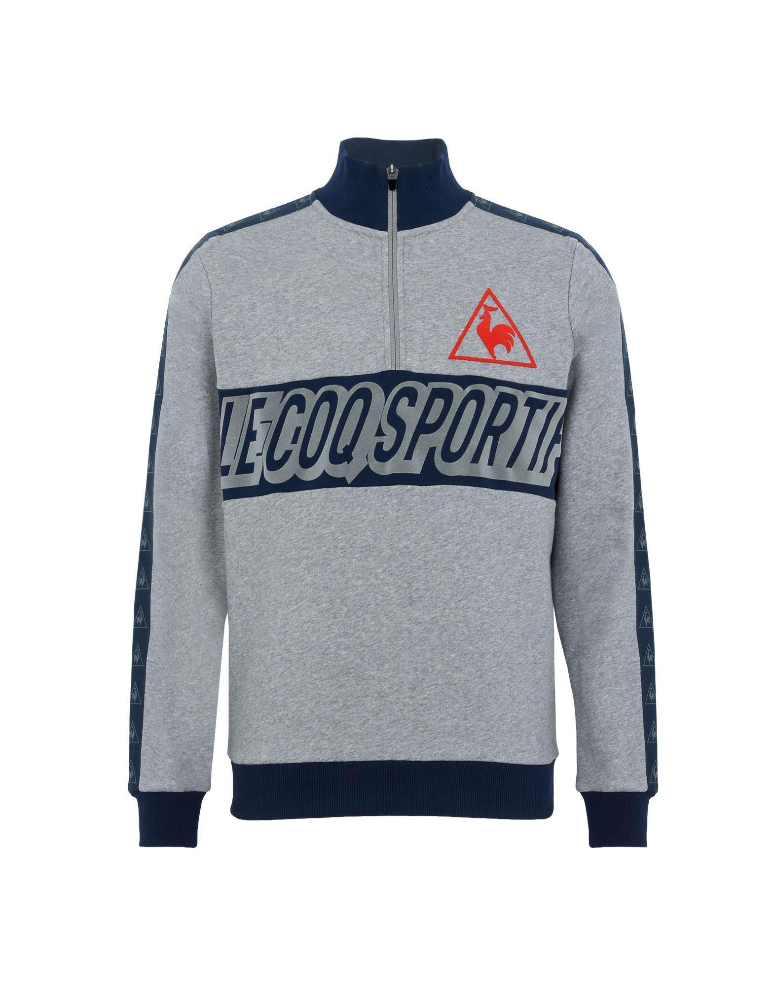 3c04ef3e96be Lyst - Le Coq Sportif Sweatshirt in Gray for Men