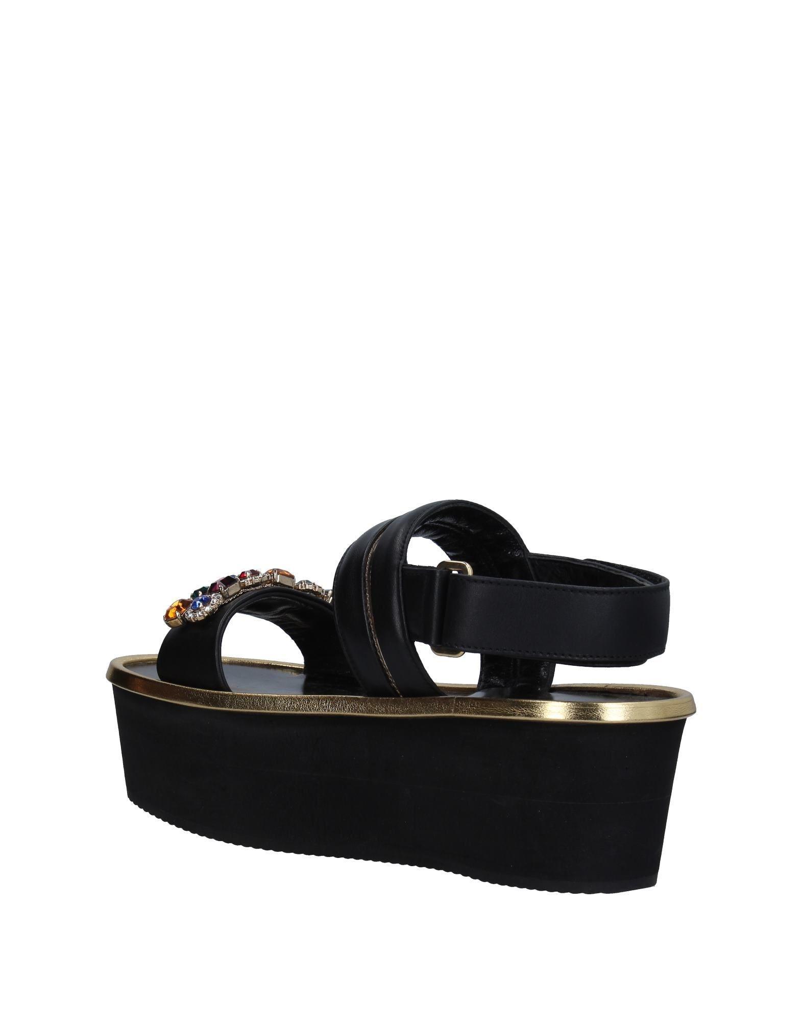947711ff944d Lyst - Alberto Guardiani Sandals in Black