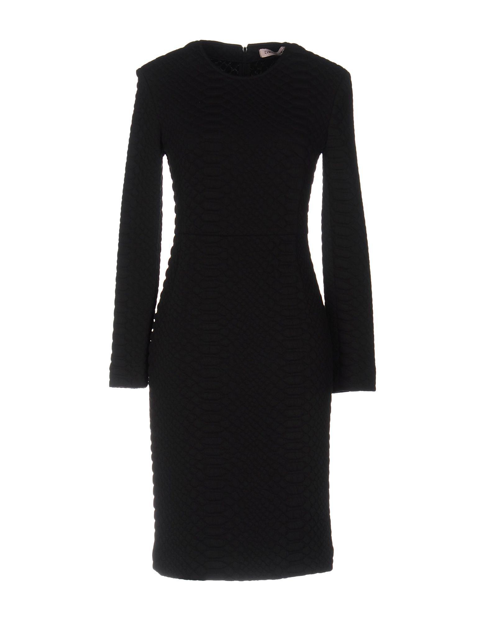 Length Lyst Knee Black Morello Frankie Dress In wfxv7