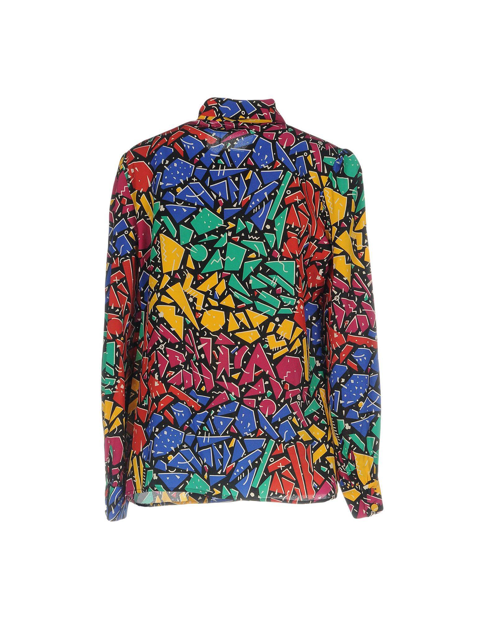 6d21b93f44a955 Lyst - Saint Laurent Shirt in Green