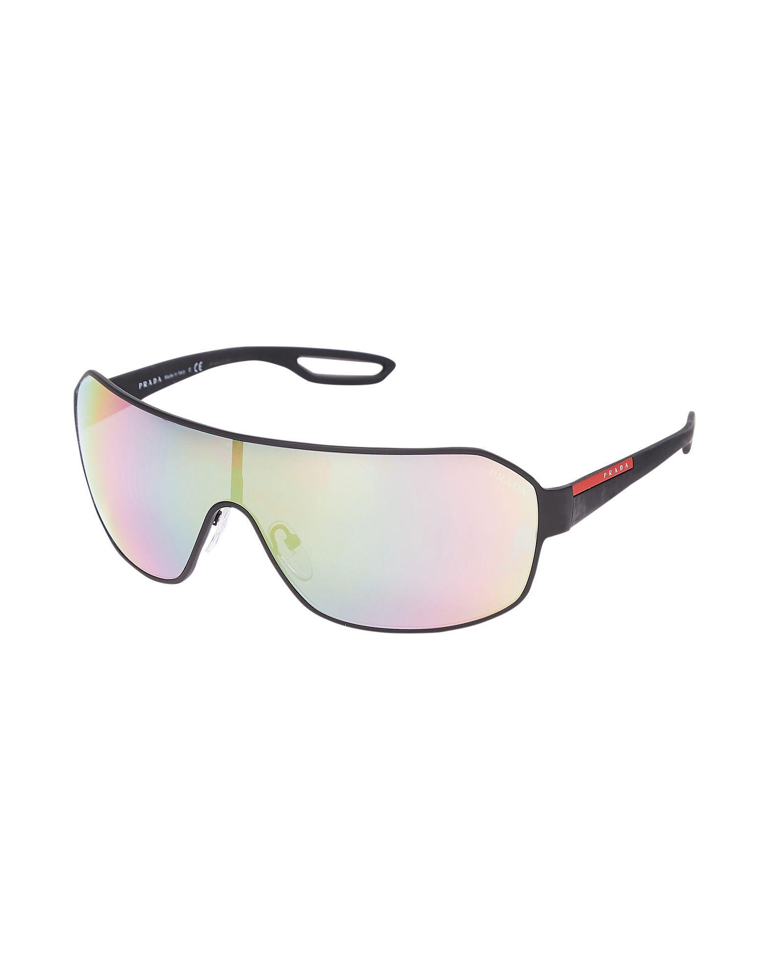 88fee558ff Prada - Black Sunglasses for Men - Lyst. View fullscreen