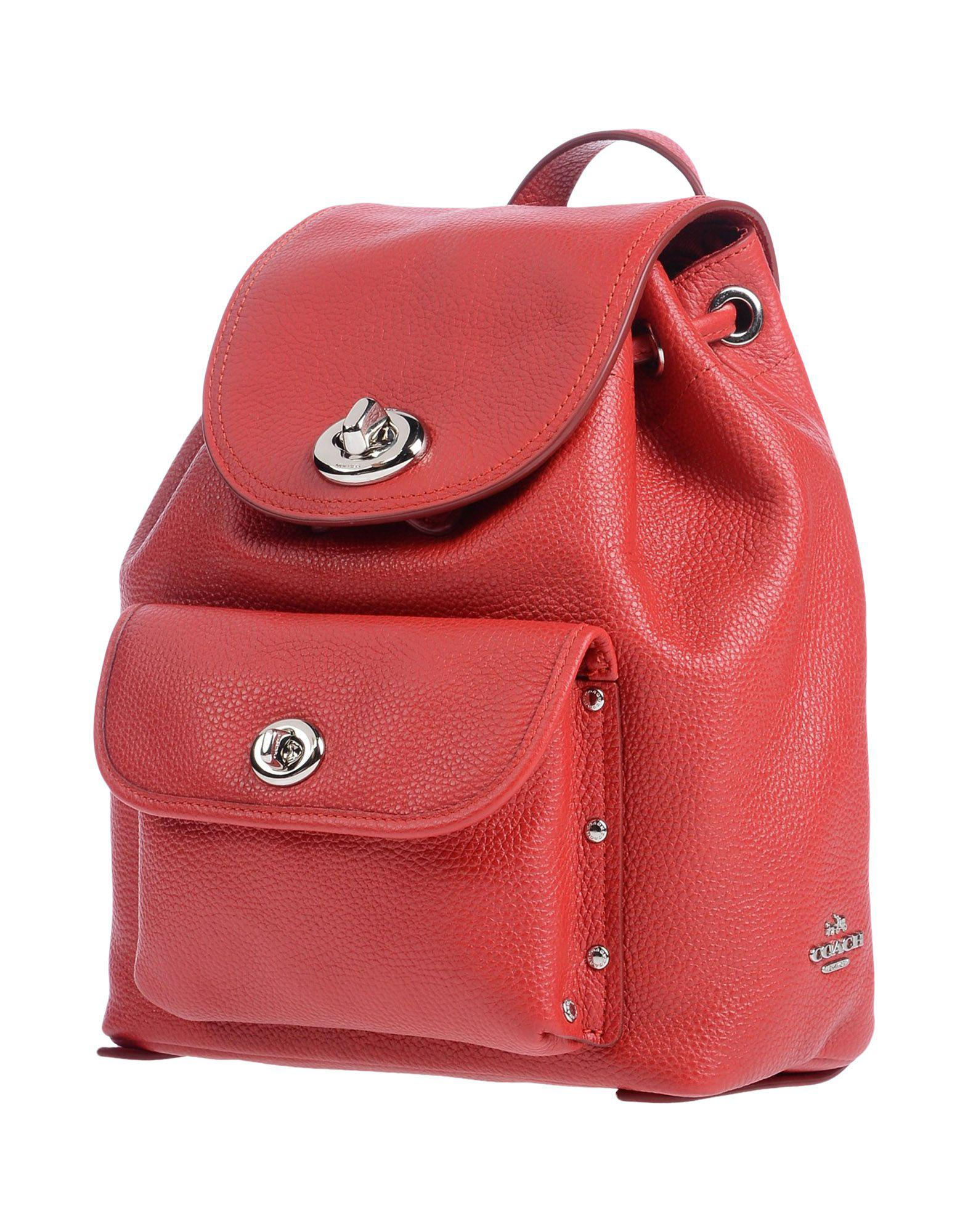 a9acc2615815 ... australia coach. womens red backpacks b94e5 3e96c