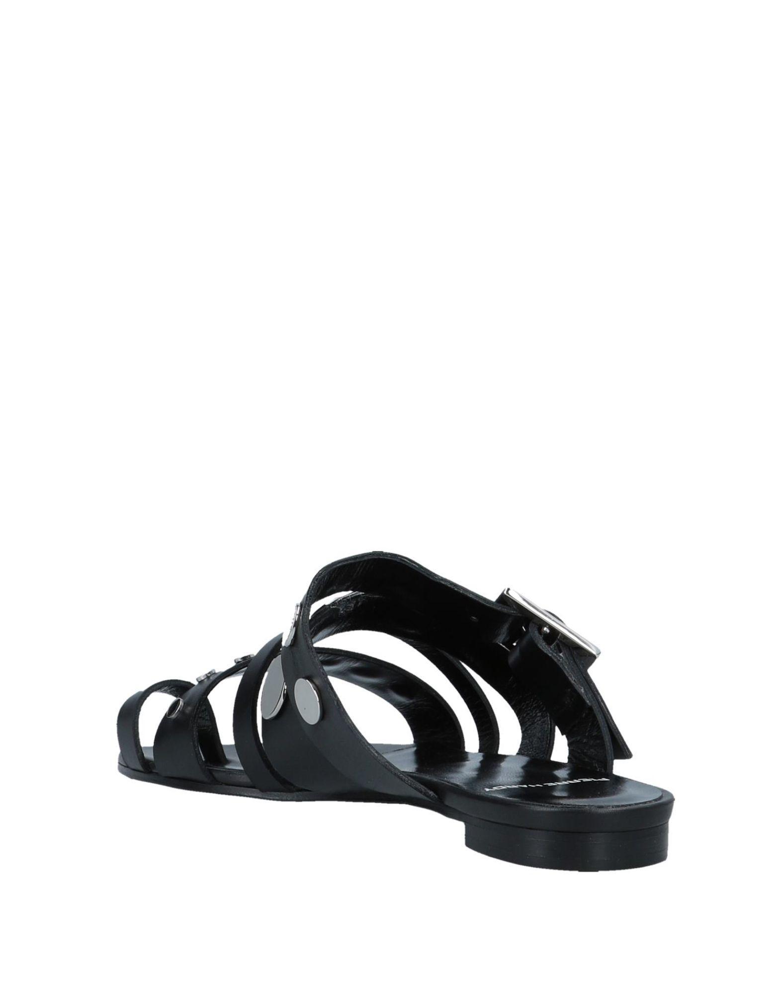 ce9d0d9cb4e98a Lyst - Pierre Hardy Toe Strap Sandal in Black