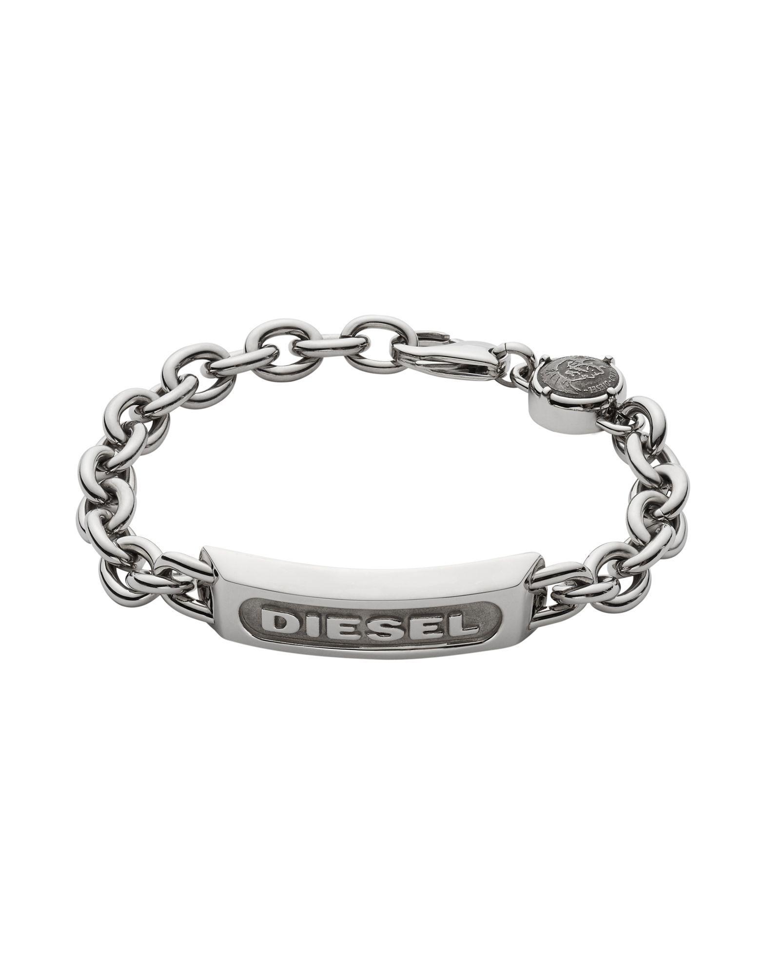 Diesel Azara bracelet - Metallic Jpl3n