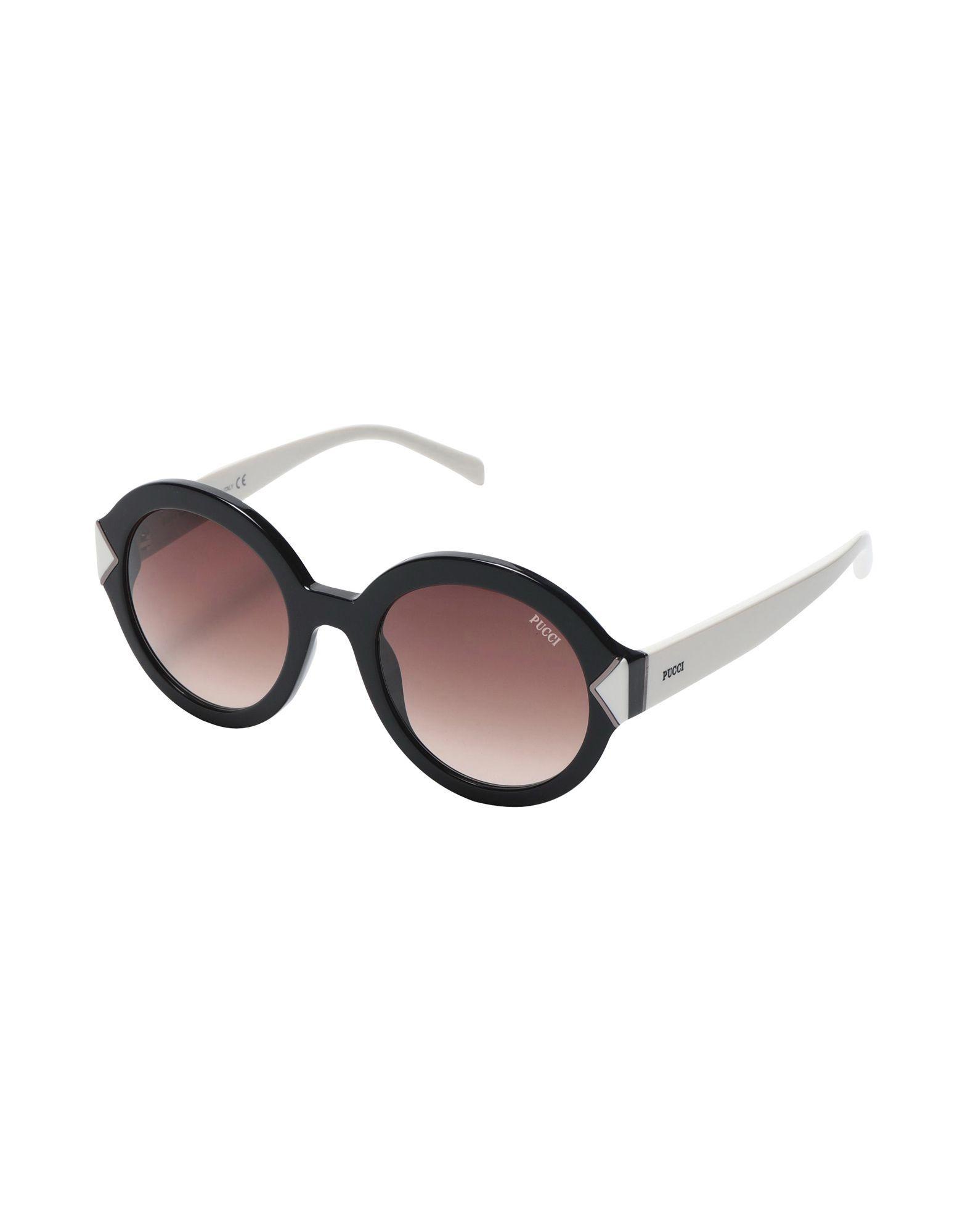 5a949b4c61 Lyst - Gafas de sol Emilio Pucci de color Negro