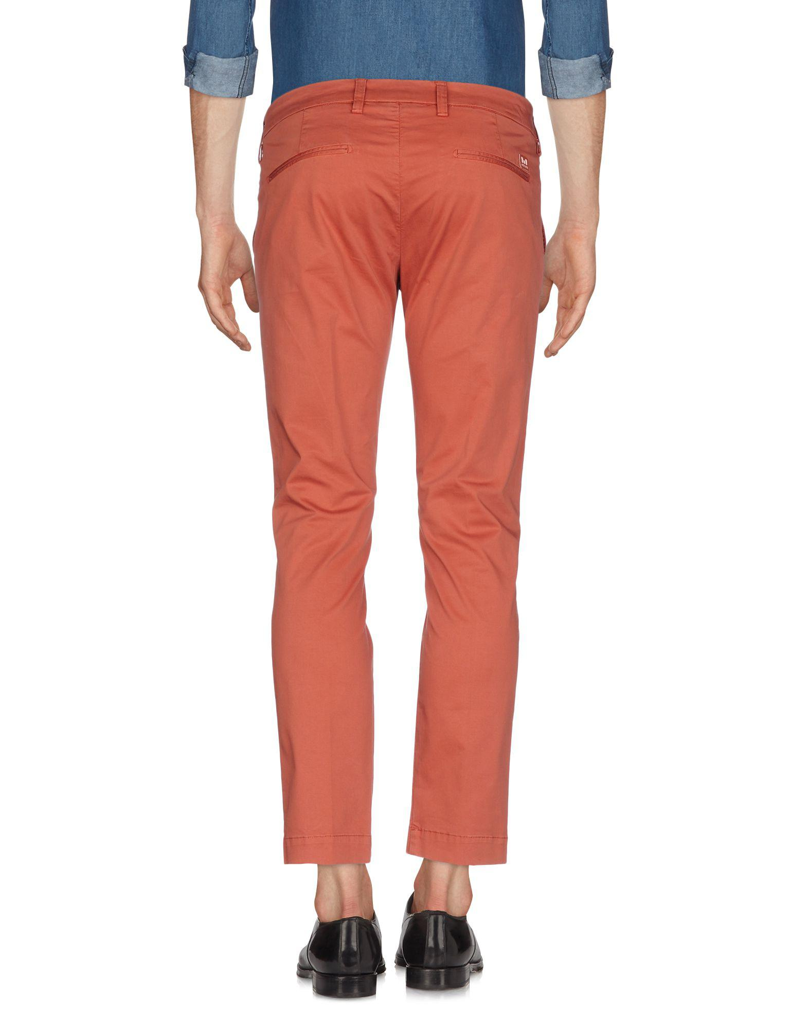 Lyst - Entre Amis Casual Trouser in Red for Men - Save 20% 6f291085f4b