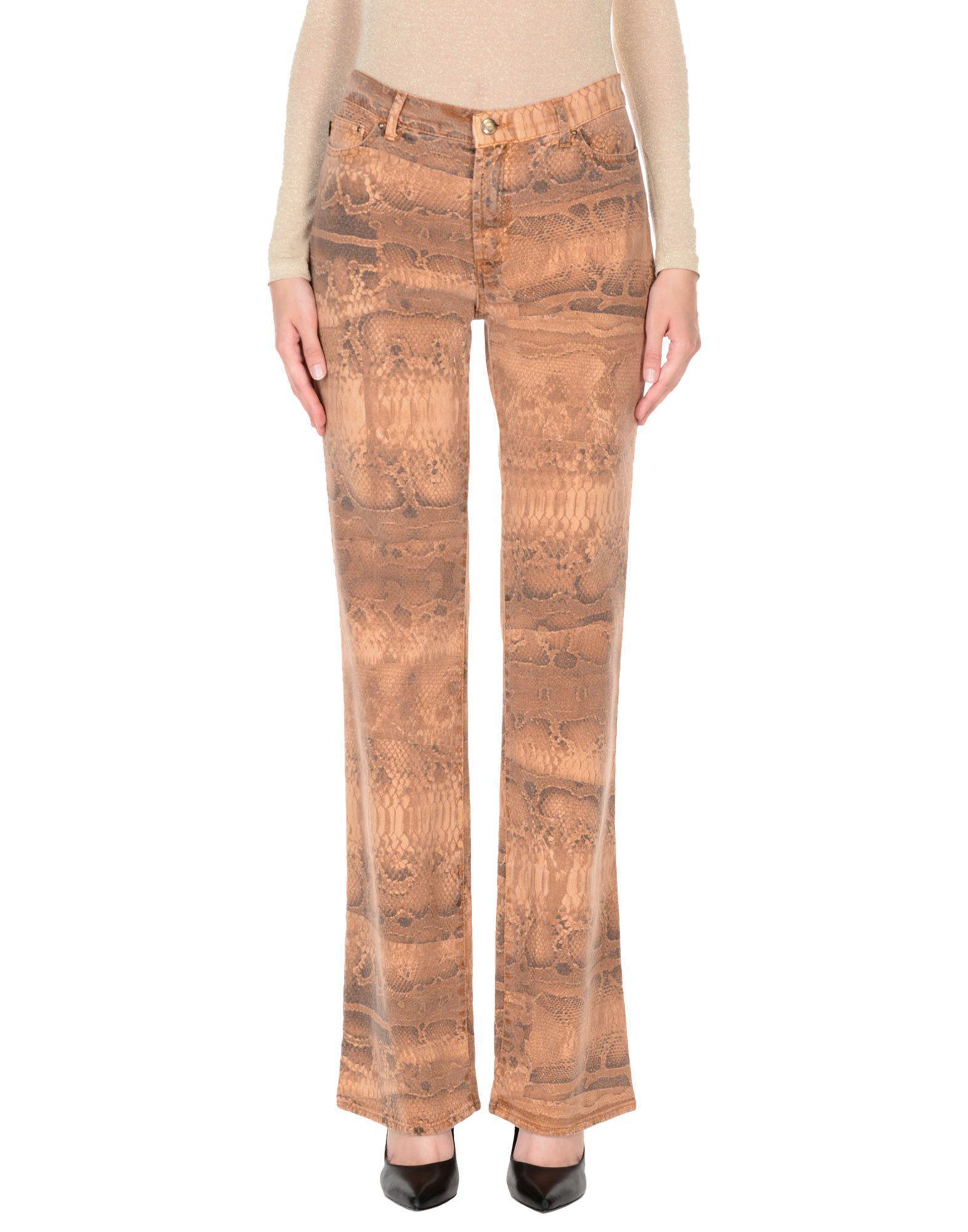 Lyst - Just Cavalli Denim Pants in Brown 09b6c10f2