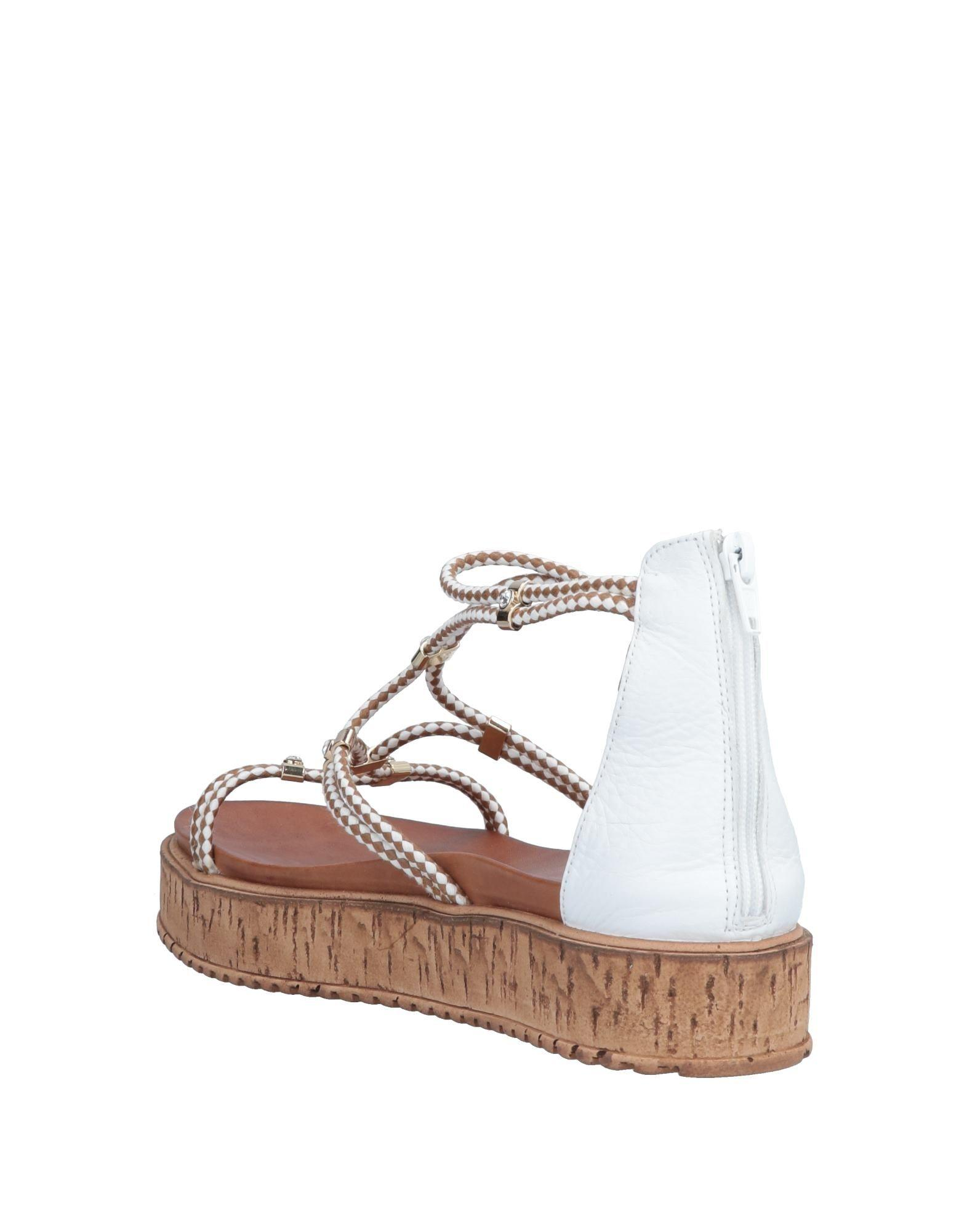 3a69b7bb833e Inuovo Sandals in White - Lyst