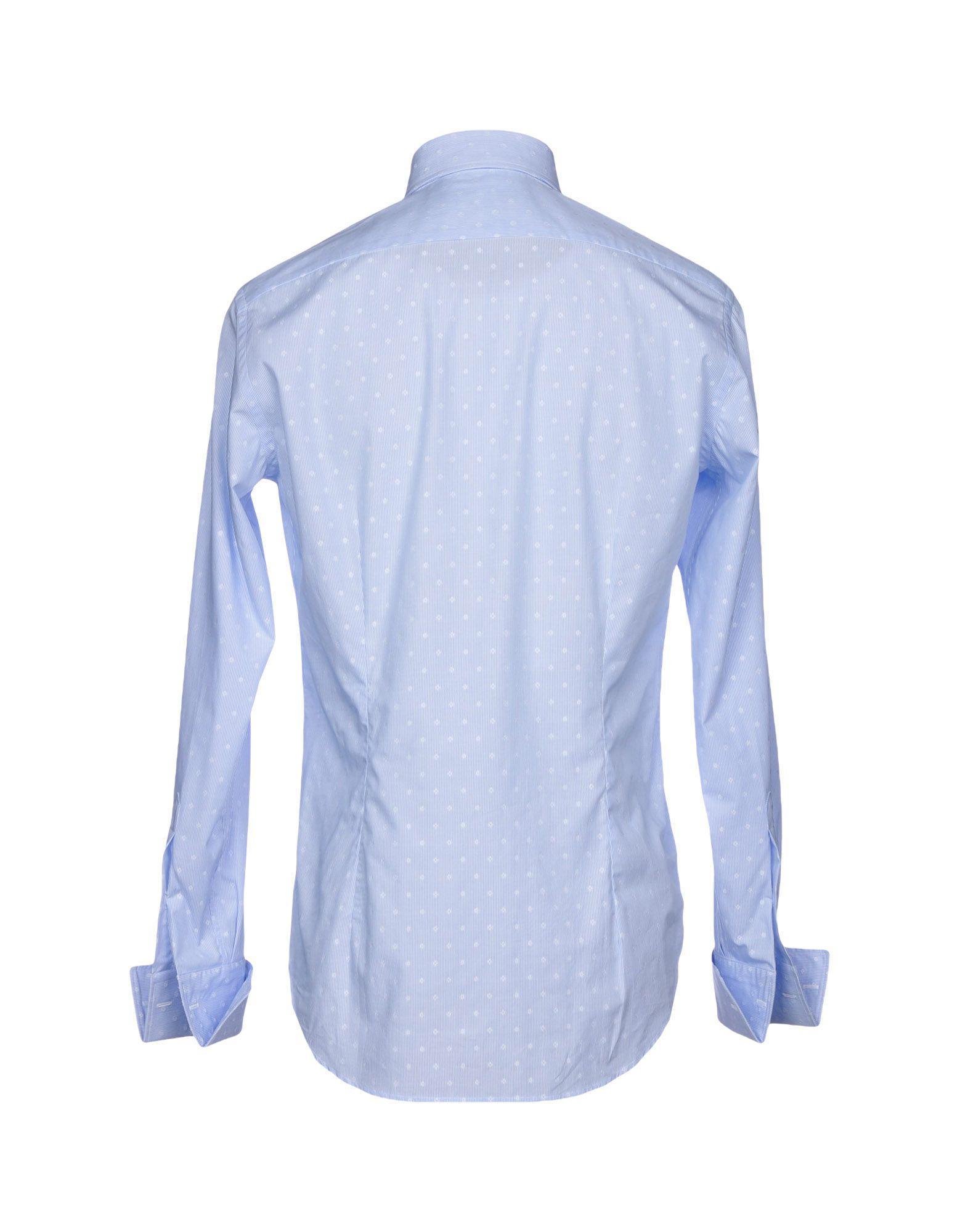 13ede93d0f1 Lyst - Chemise Caliban pour homme en coloris Bleu