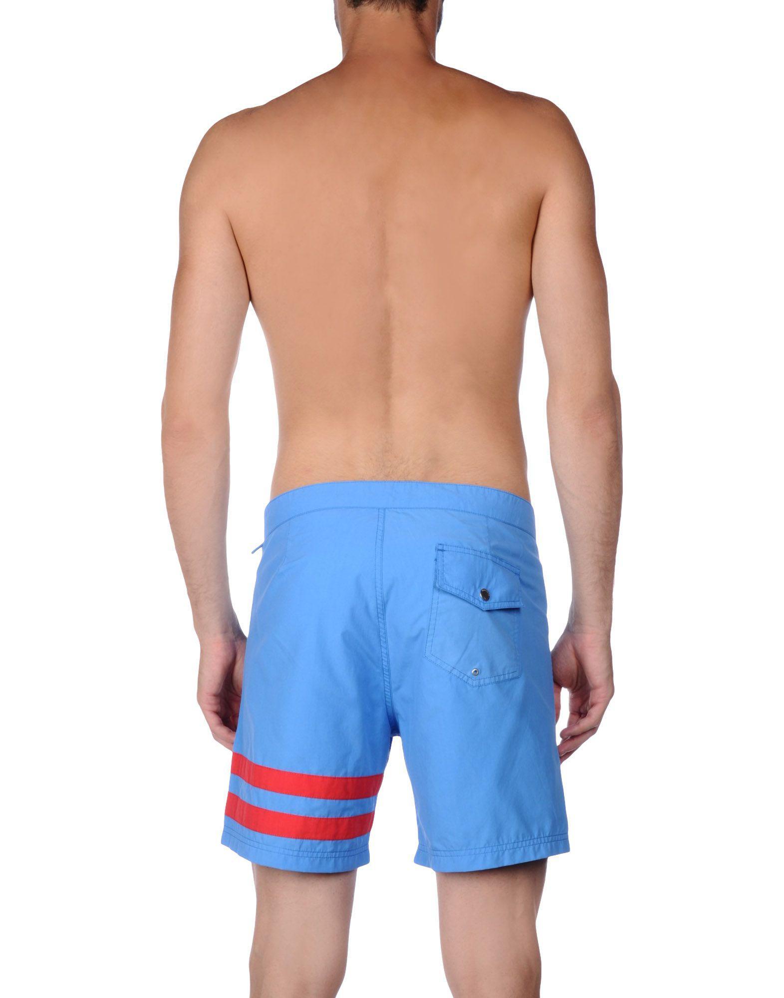 d85f278ac6 Hartford Swimming Trunks in Blue for Men - Lyst