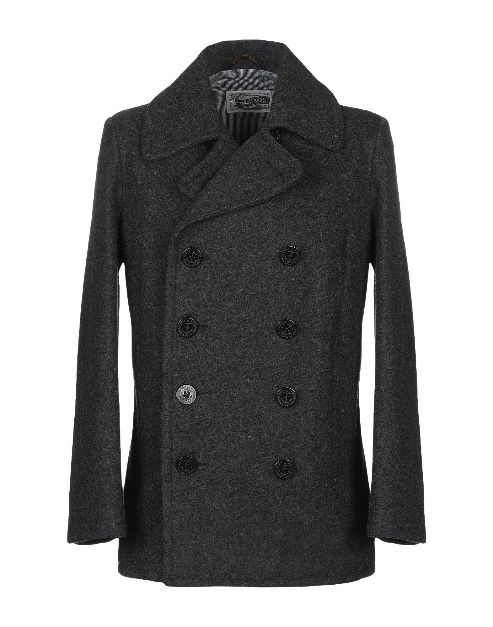 6abb115fb780 Lyst - Schott Nyc Coat in Gray for Men