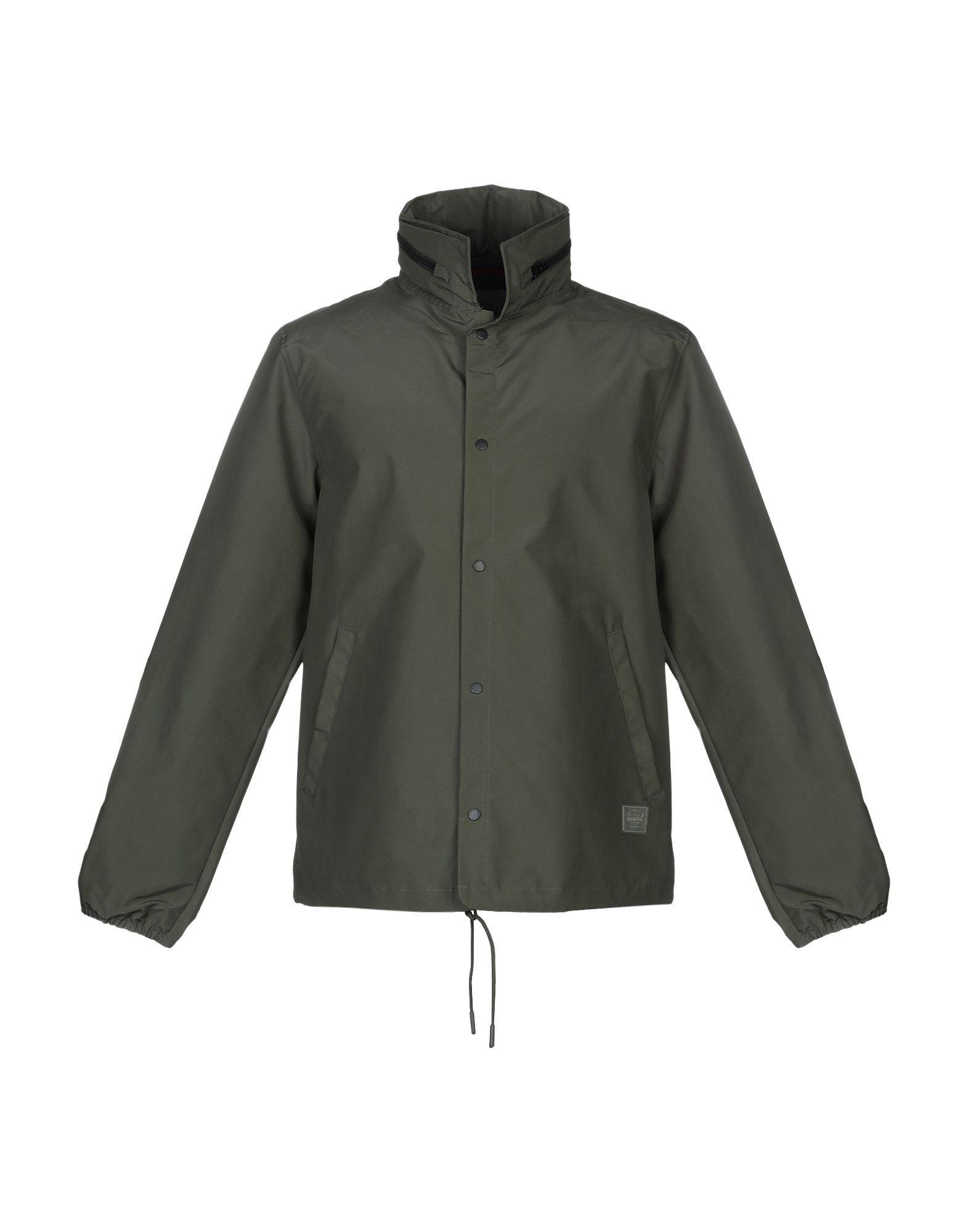 82c99fb0285 Lyst - Herschel Supply Co. Jacket in Green for Men