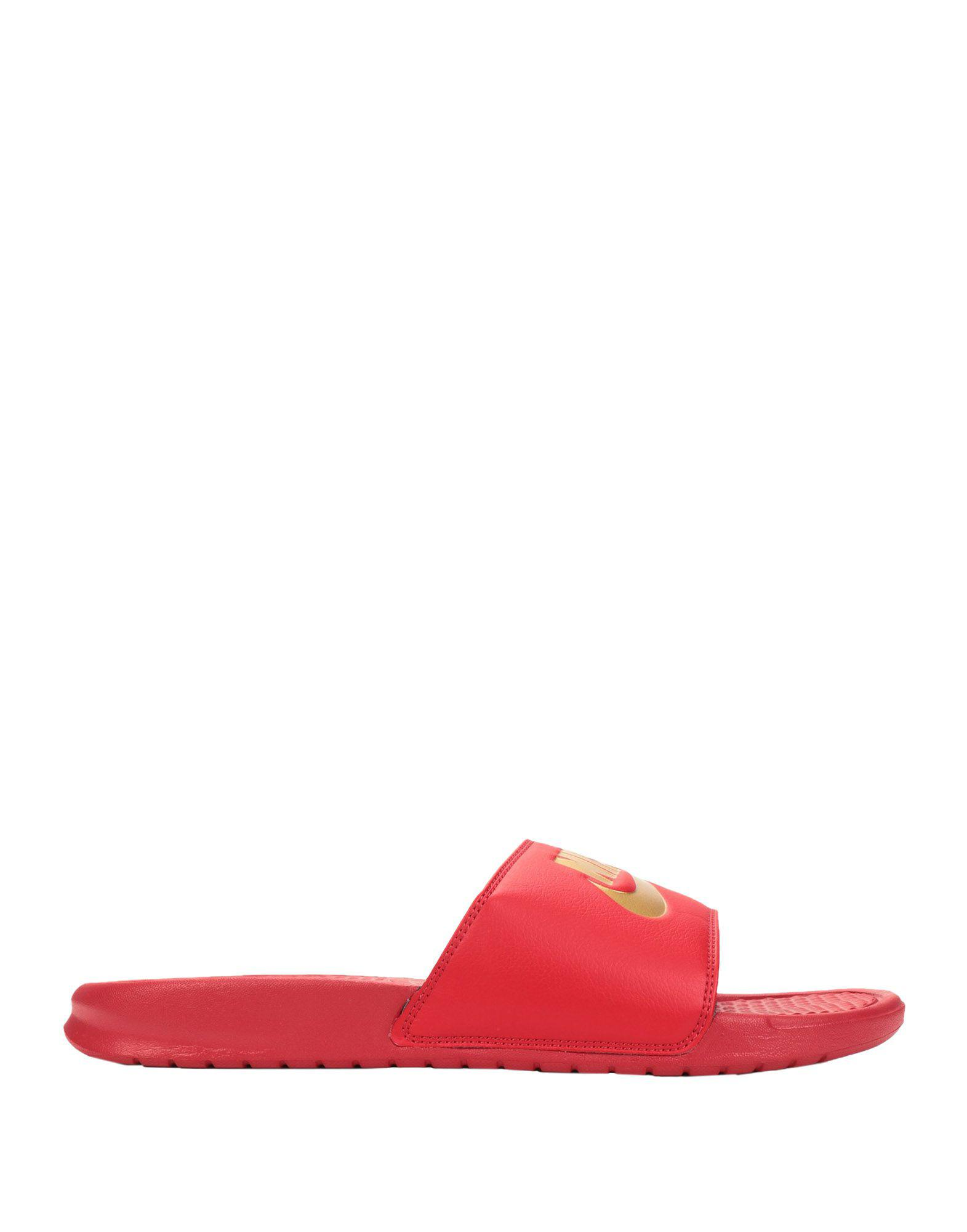 huge selection of 26eee 546d8 Lyst - Sandales Nike pour homme en coloris Rouge