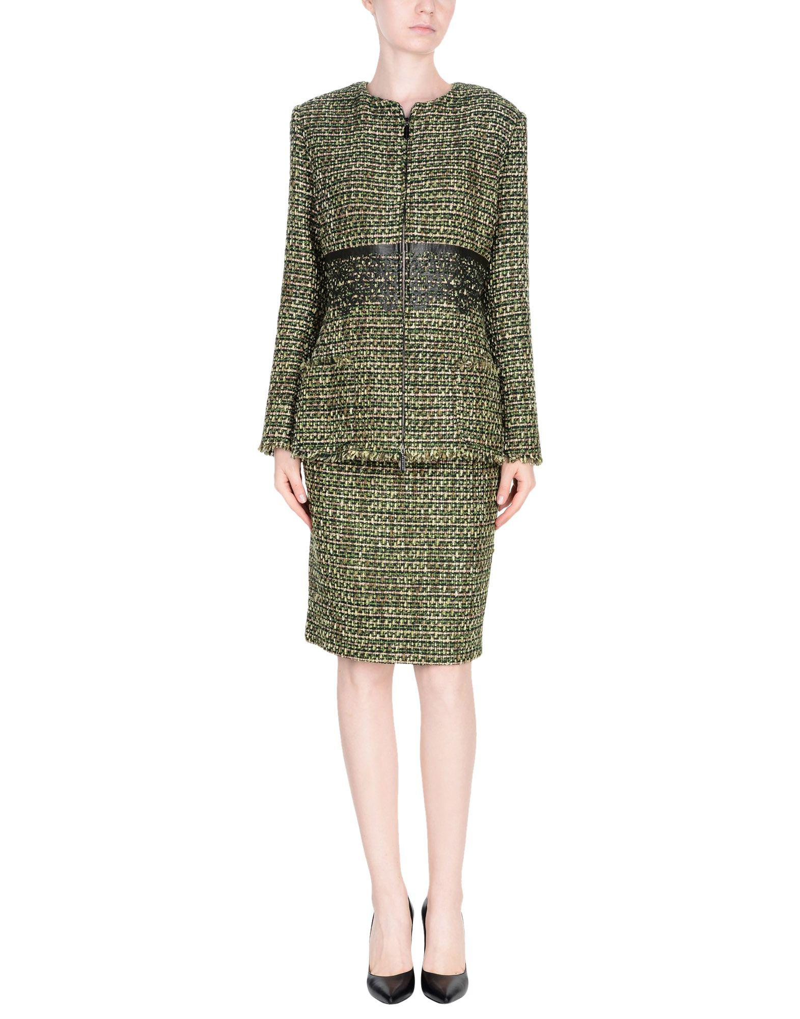 Lyst Fontana Couture Women S Suit In Green