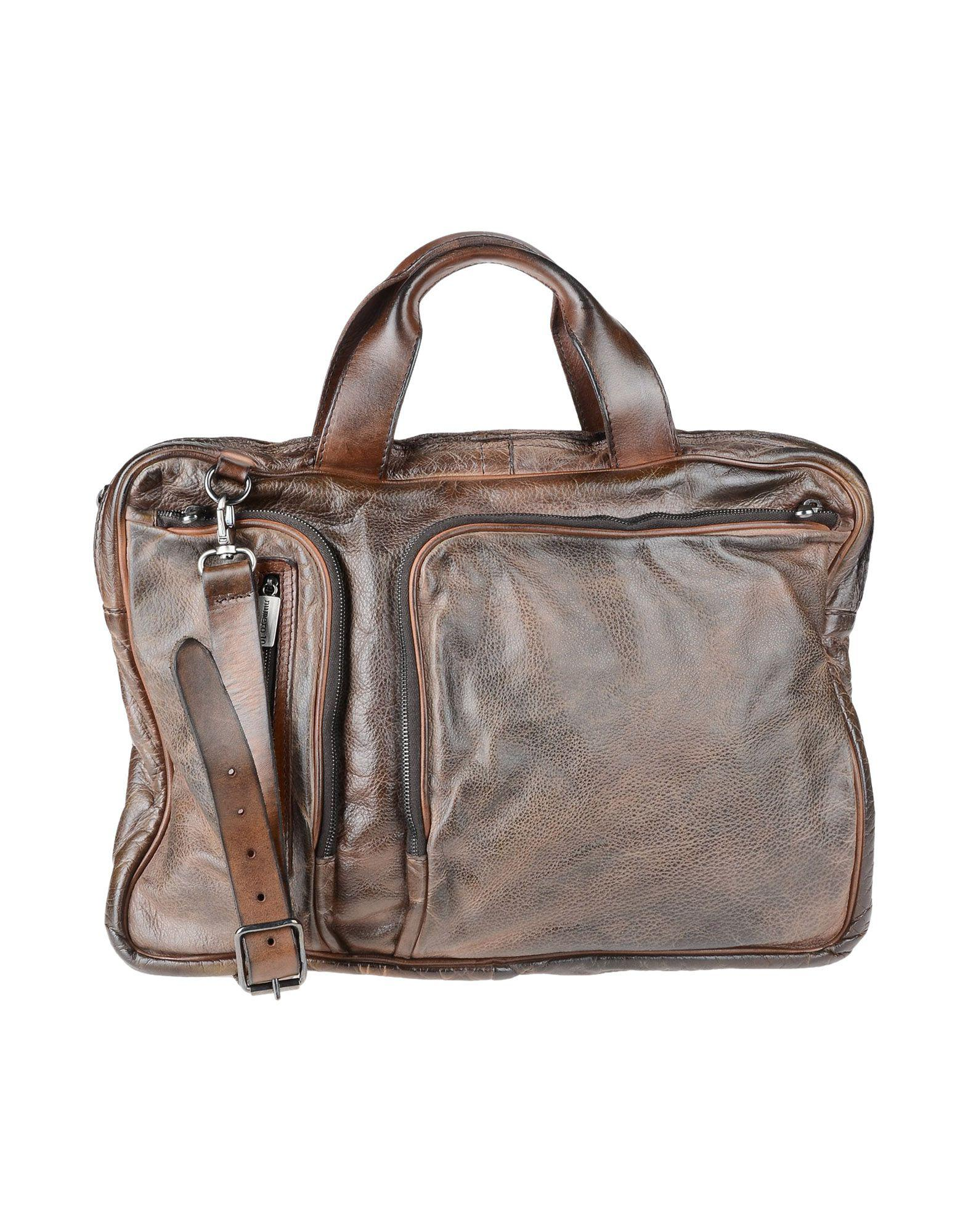 93b168daf0 Lyst - Numero 10 Work Bags in Brown