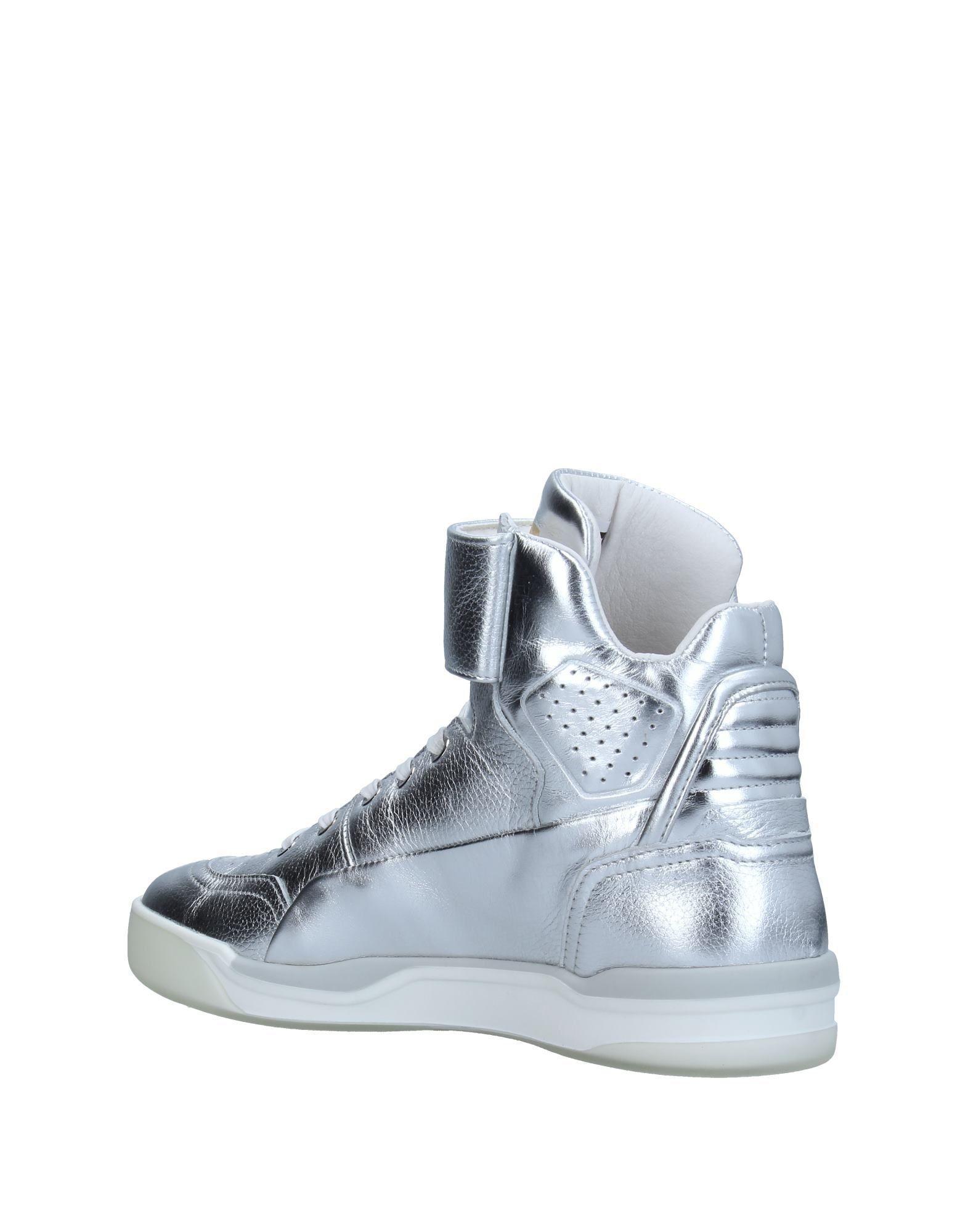 ffc3fb1ed71 Alexander McQueen X Puma - Metallic High-tops   Sneakers - Lyst. View  fullscreen